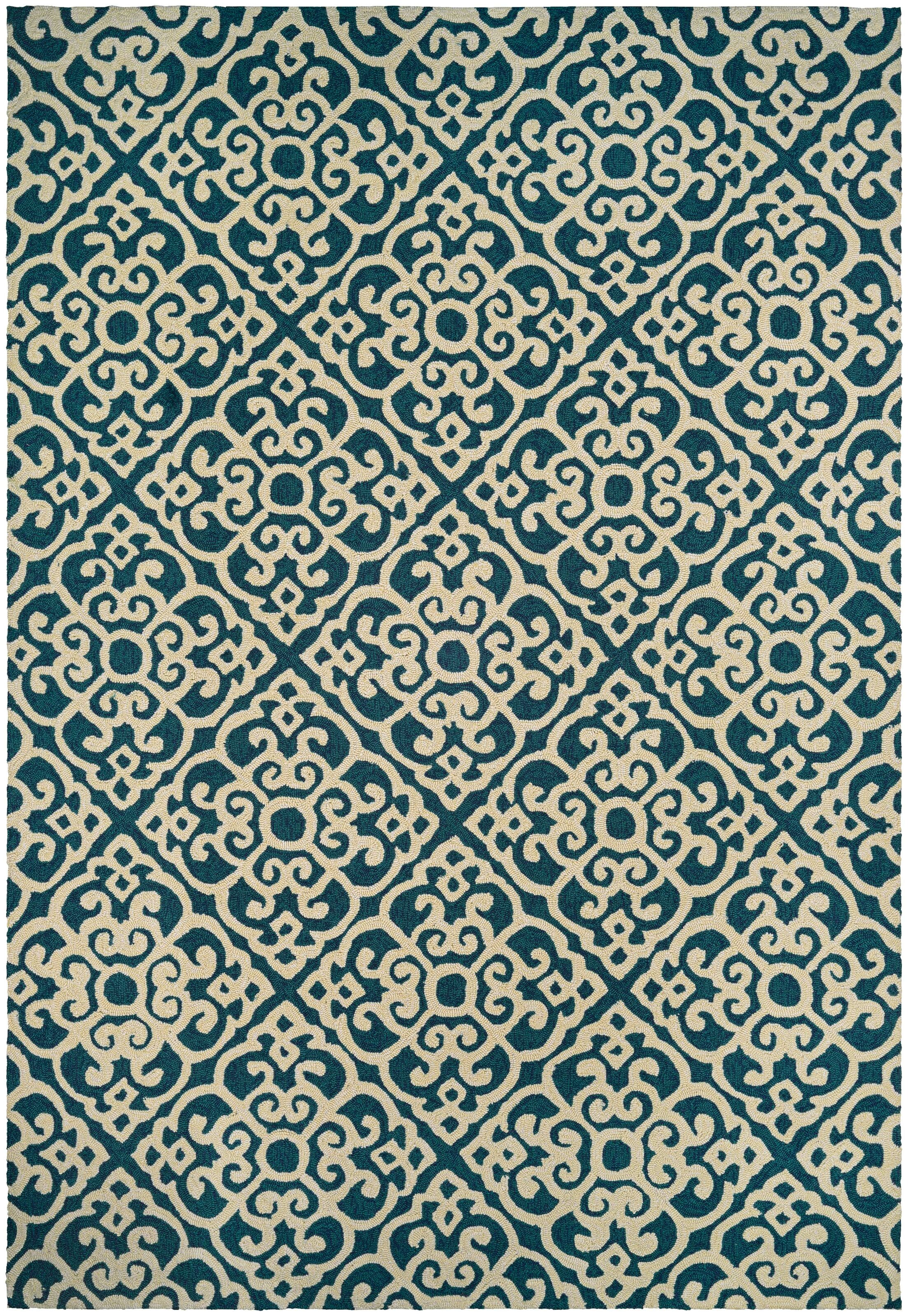 Union Hand-Knotted Indoor/Outdoor Area Rug Rug Size: Rectangle 8' x 11'