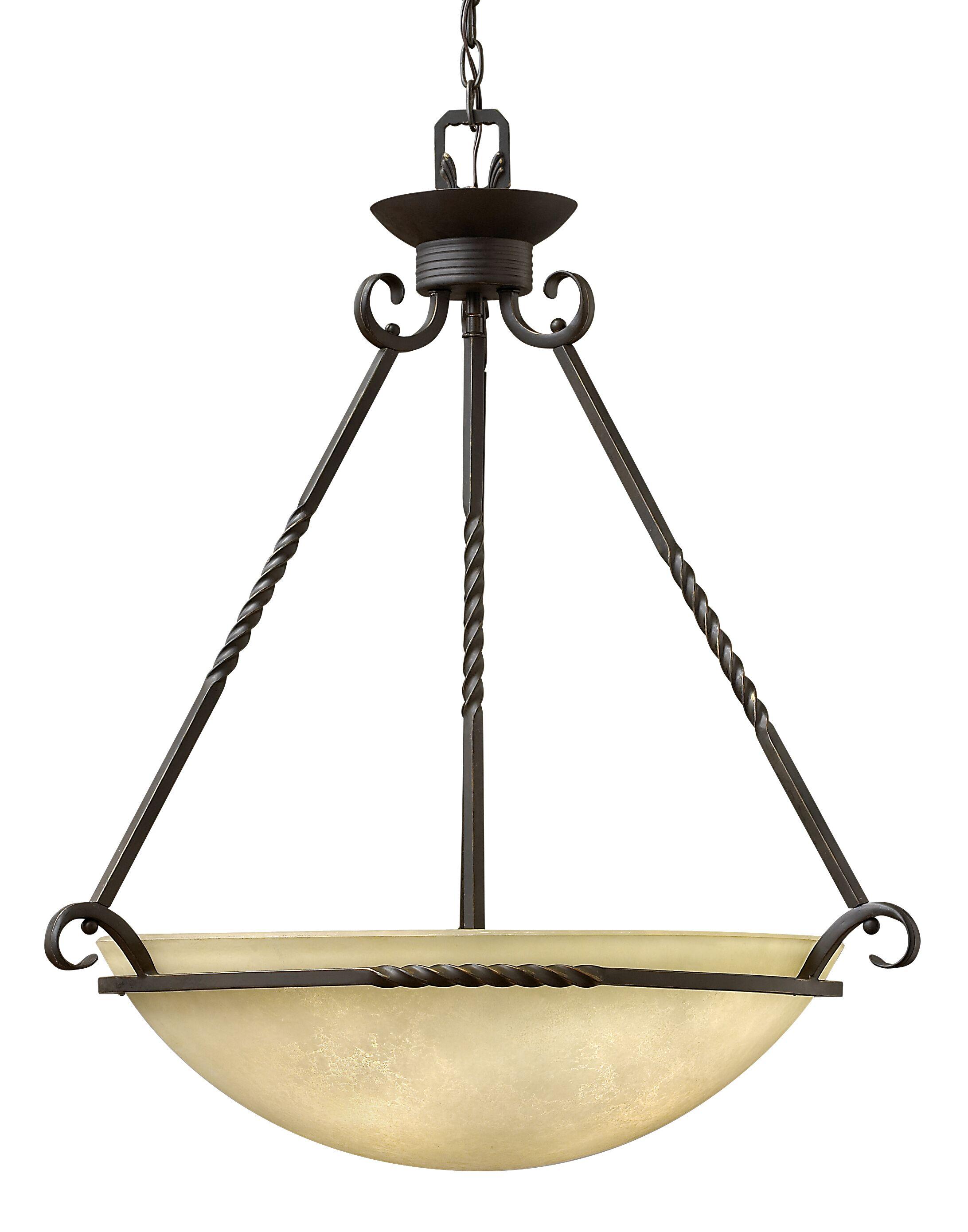 Jamar 4-Light Bowl Pendant