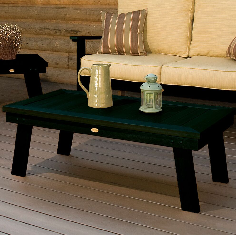 Emery Dining Table Color: Charleston Green