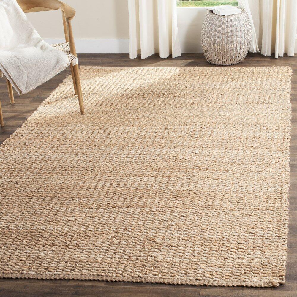 Cassville Hand-Woven Natural Fiber Area Rug Rug Size: Rectangle 6' x 9'