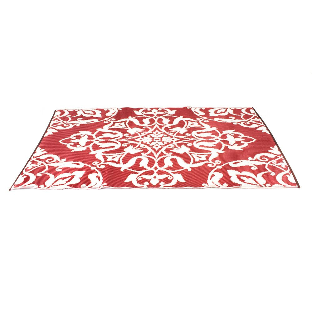 Offer up a touch of pattern and lasting appeal to any ensemble with this absolutely eye-catching area rug, the perfect balance of striking aesthetics and neutral looks in your well-curated space. Featuring a bold floral damask motif in neutral colors,...
