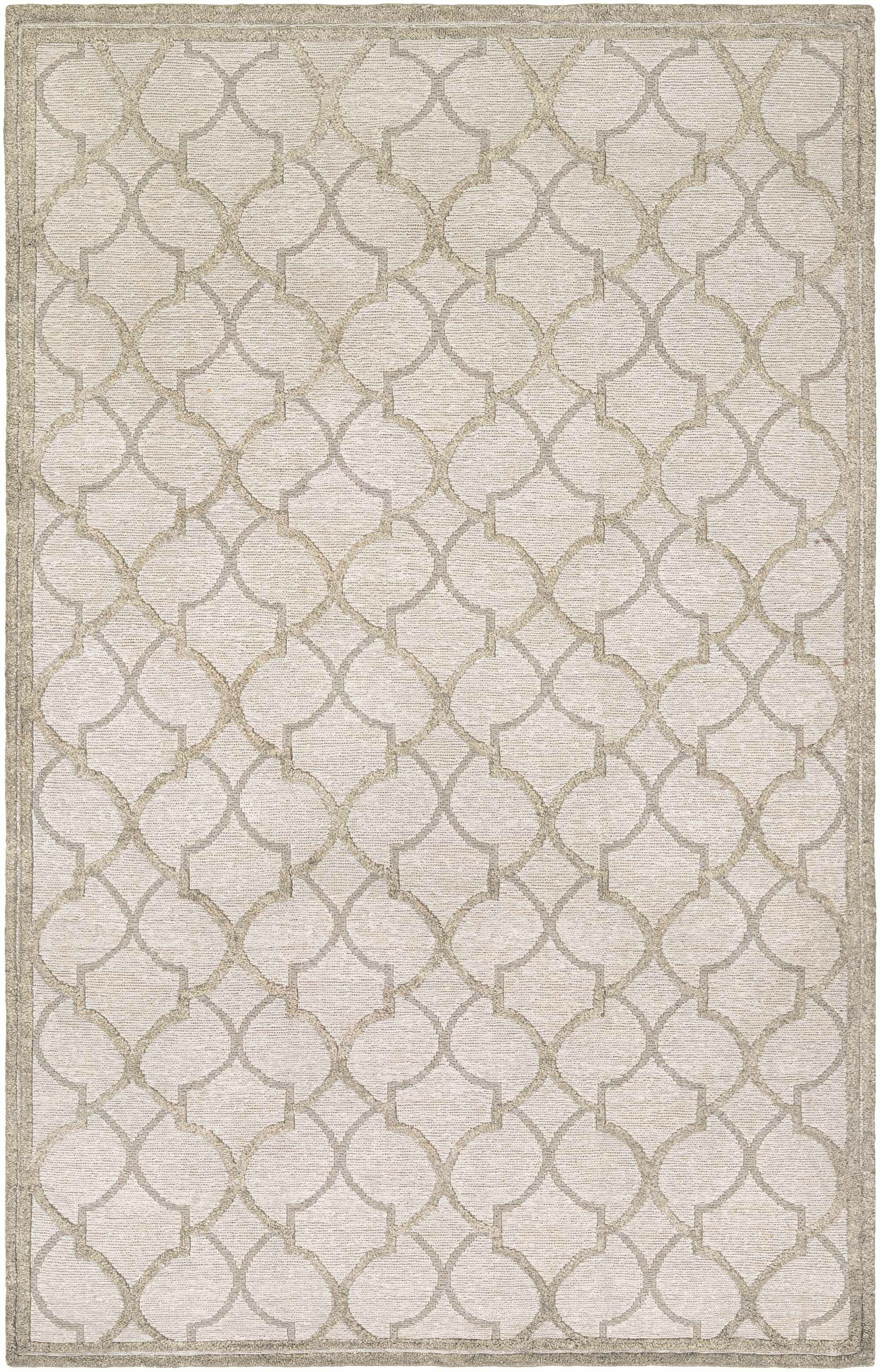 Willisville Hand-Woven Gray/Silver Area Rug Rug Size: Rectangle 3'6