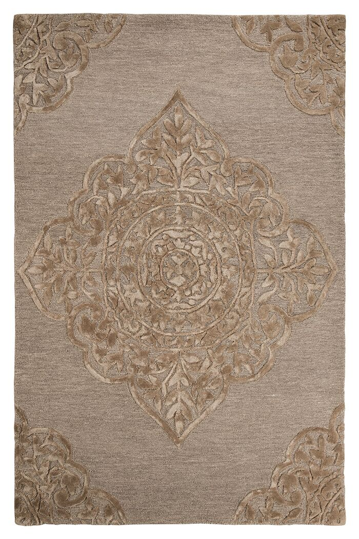 Chaffee Brown Area Rug Rug Size: 5' x 8'