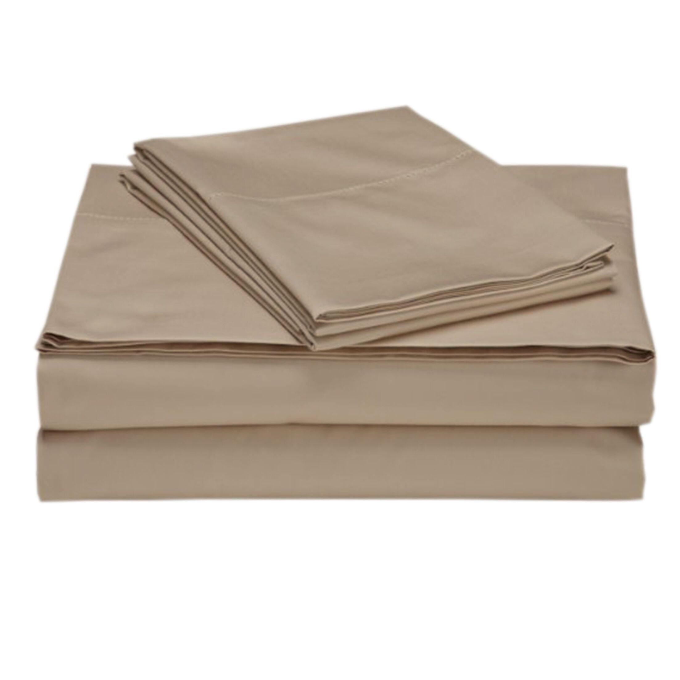 Locascio 618 Thread Deep Pocket Sheet Set Color: Sand, Size: California King