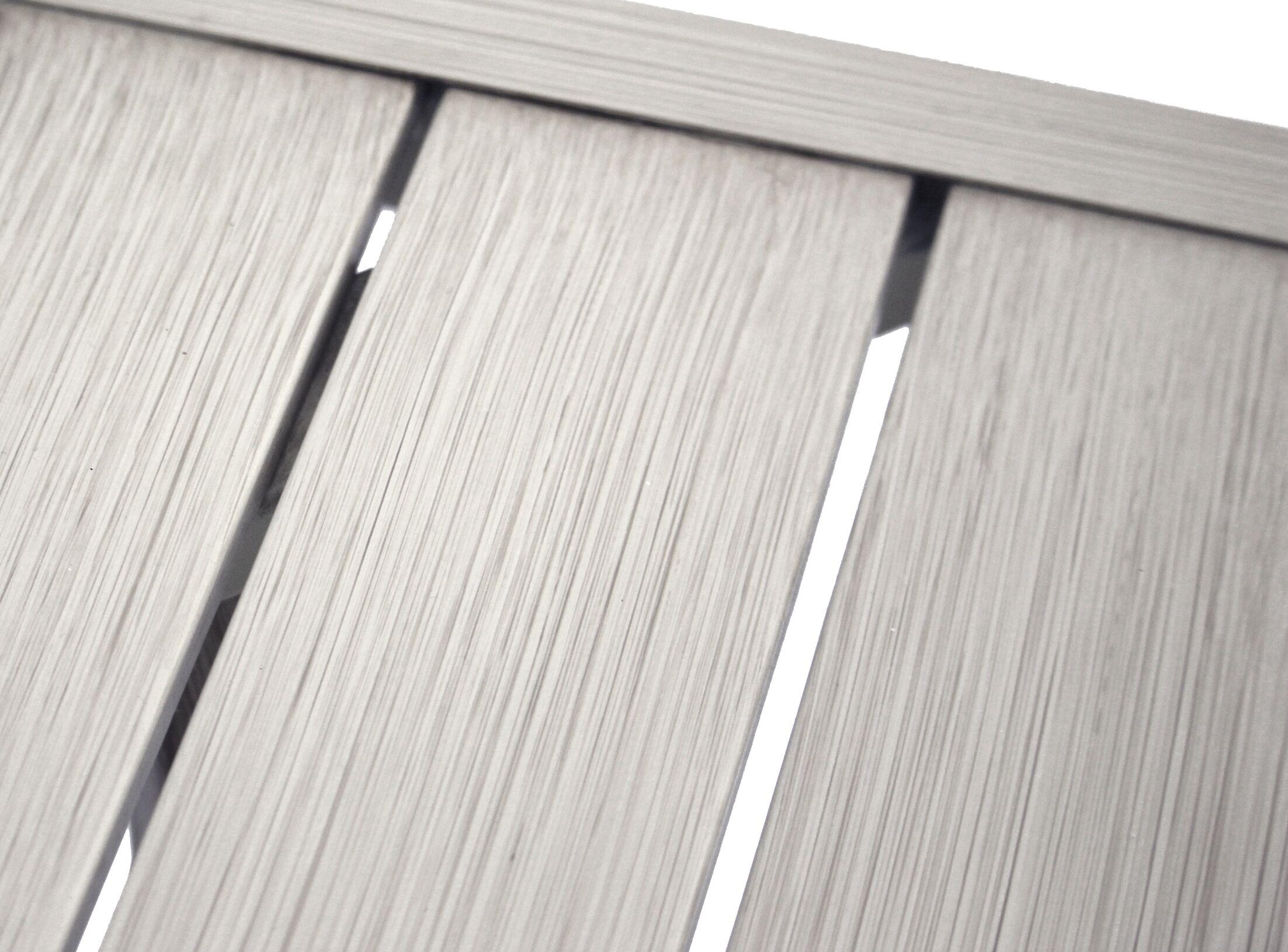 Caressa Aluminum Outdoor Rectangle Metal Coffee Table