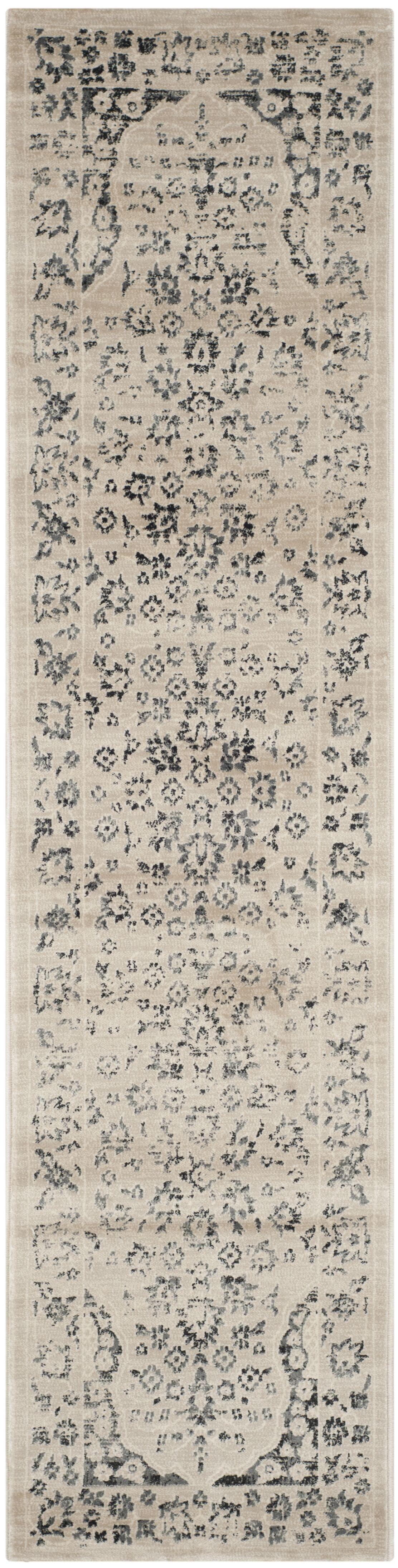 Minonk Beige/Blue Area Rug Rug Size: Rectangle 8' x 10'