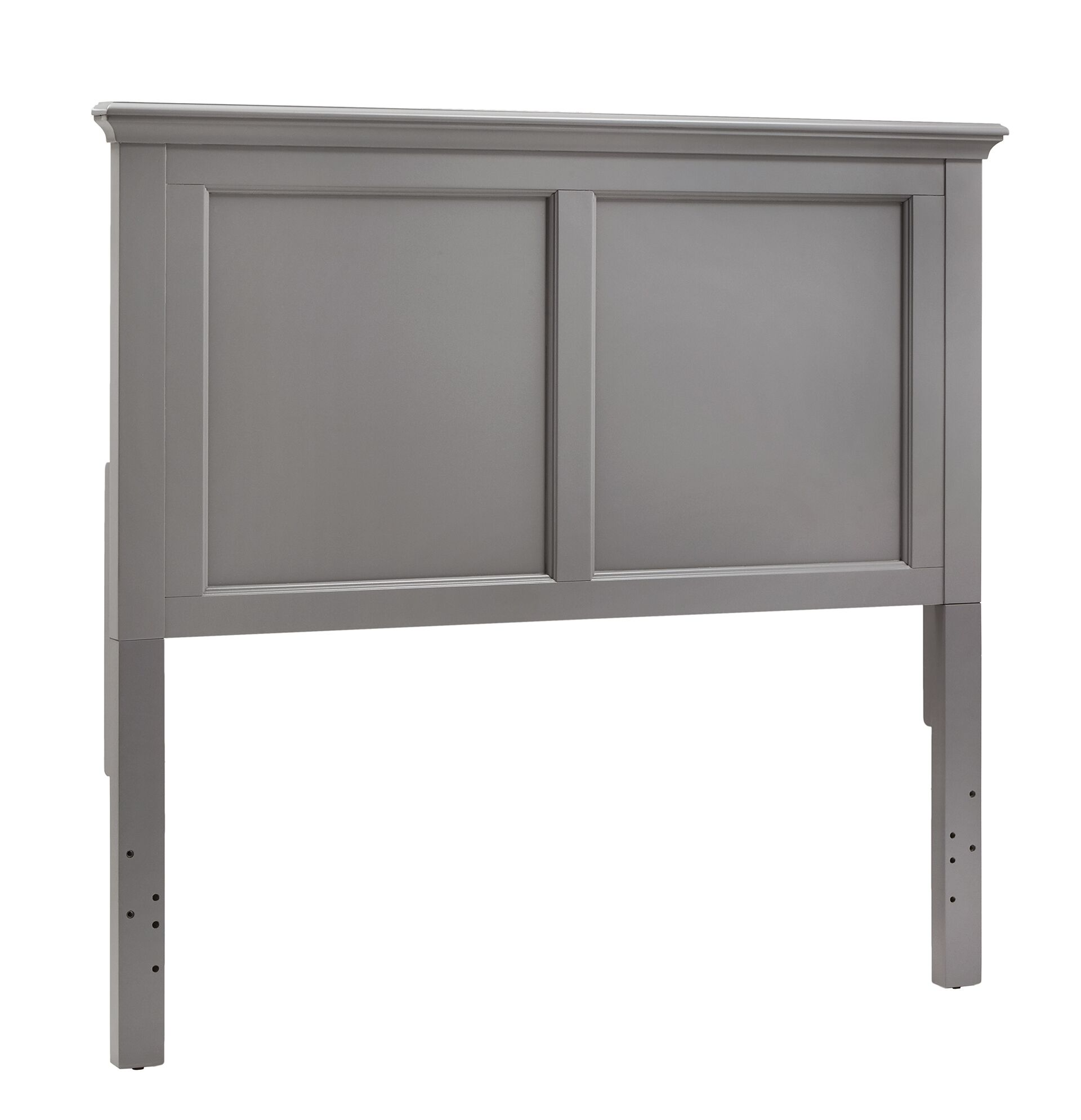 Rae Panel Headboard Color: Frost Gray, Size: Full