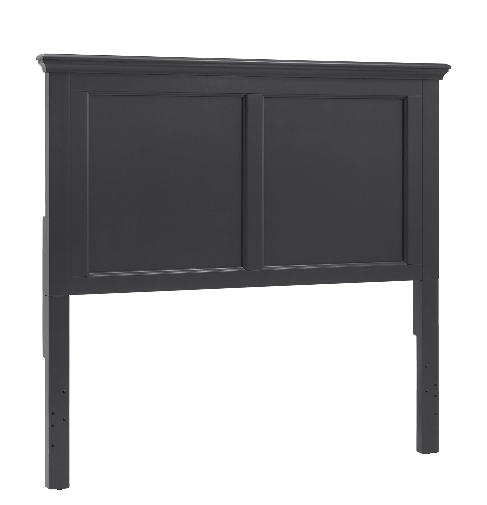 Rae Panel Headboard Color: Vulcan Black, Size: Twin