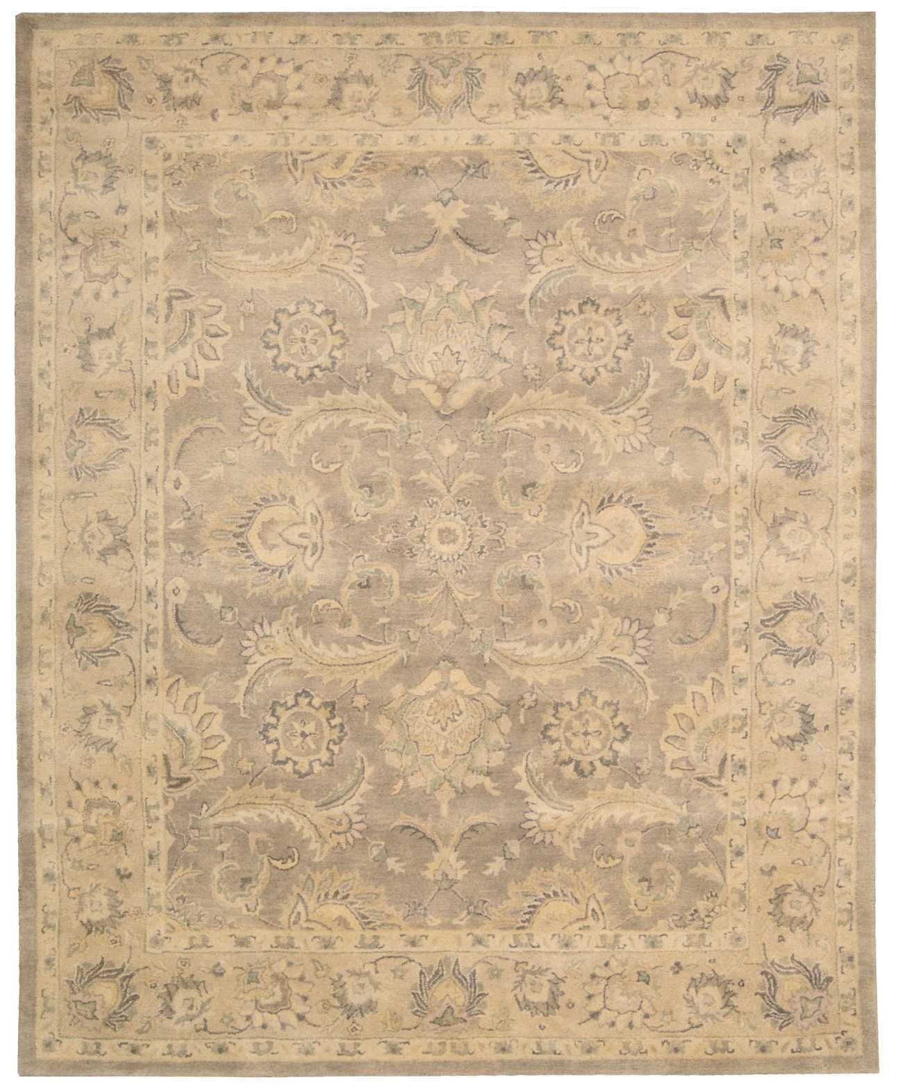 Fullmer Taupe Area Rug Rug Size: Rectangle 5'6