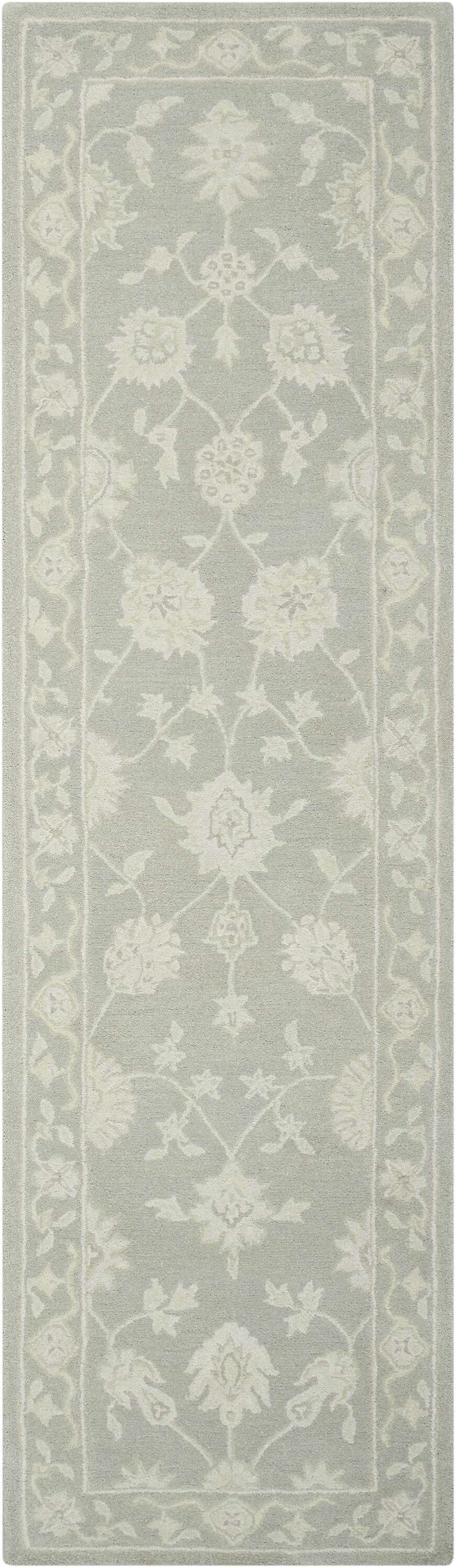 Ridgeville Hand-Tufted Light Taupe Area Rug Rug Size: Rectangle 9'6