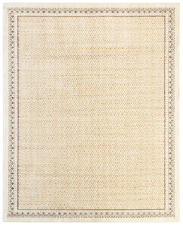 Phillipsburg Gold Area Rug Rug Size: Rectangle 8' x 10'
