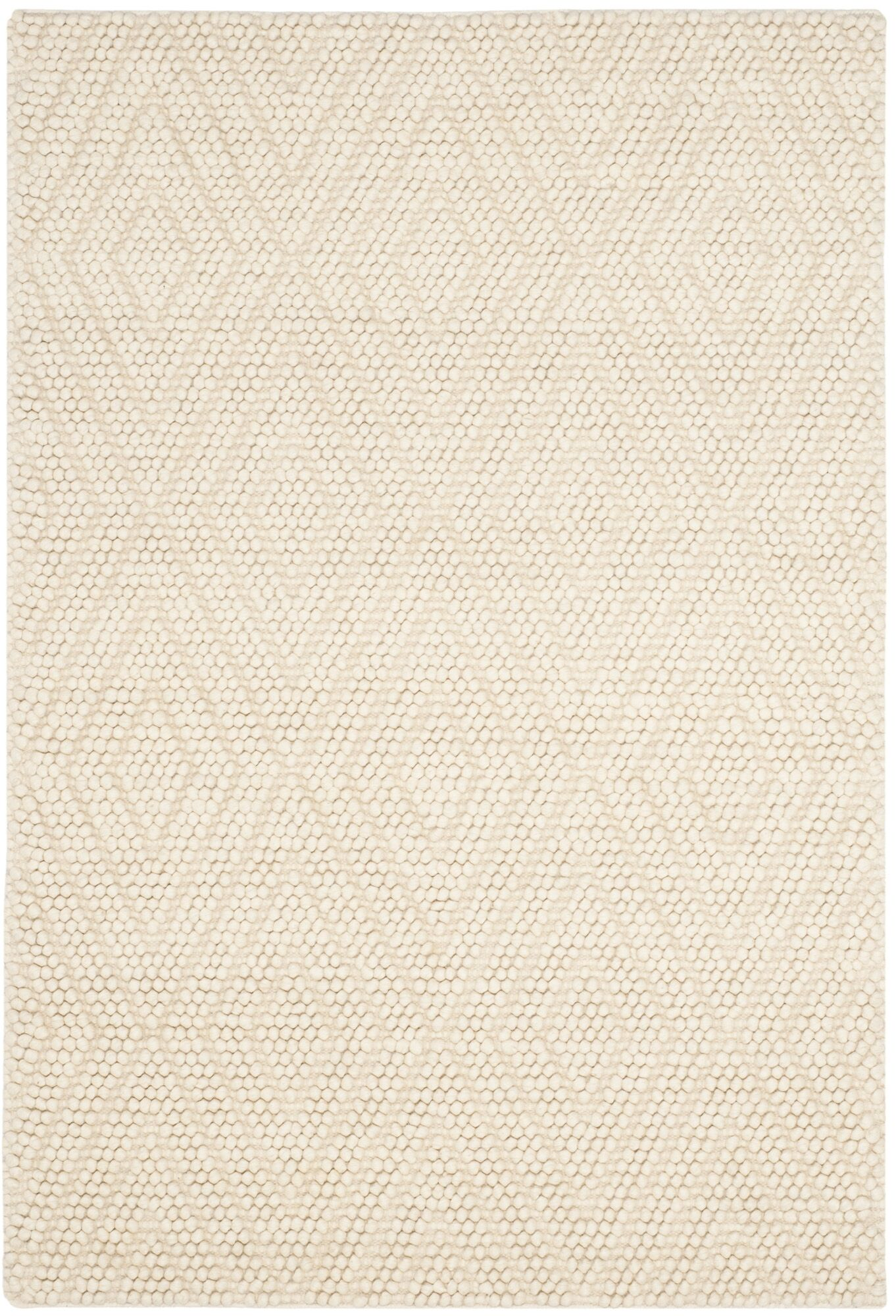 Bathild Hand-Tufted Ivory Area Rug Rug Size: Rectangle 9' x 12'