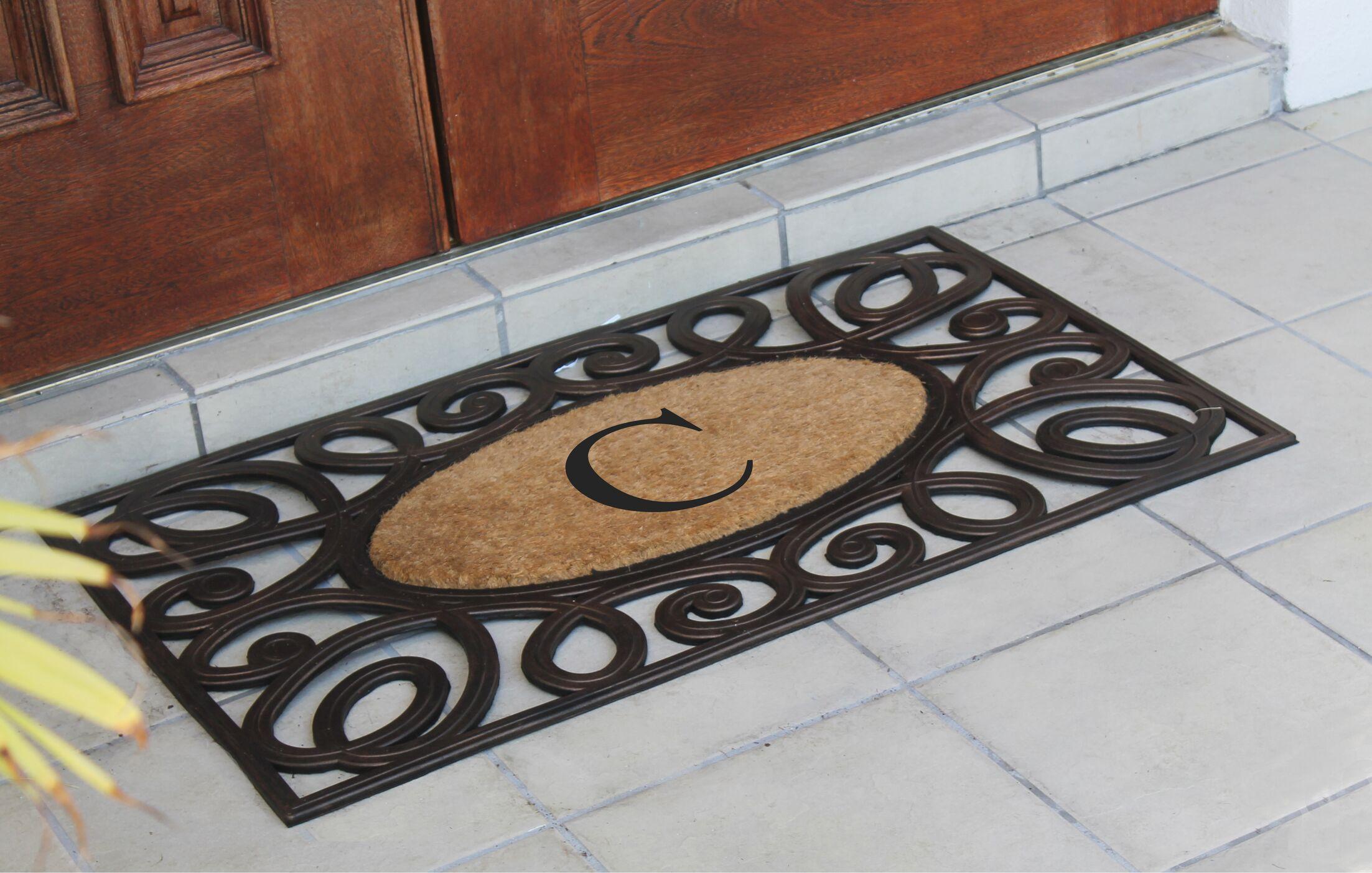 Baggs Monogrammed Doormat Letter: C