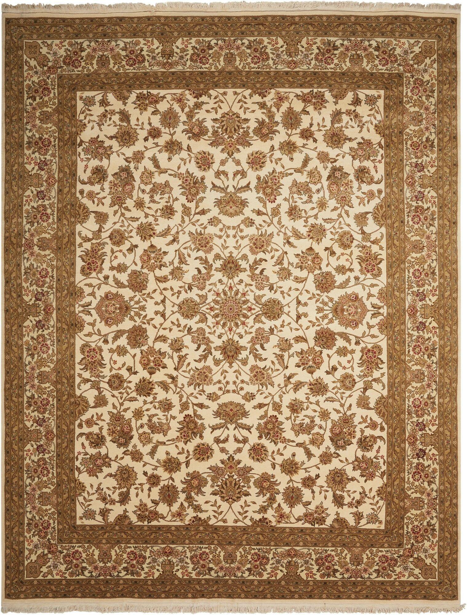 Franciscan Handmade Ivory Area Rug Rug Size: Rectangle 7'9