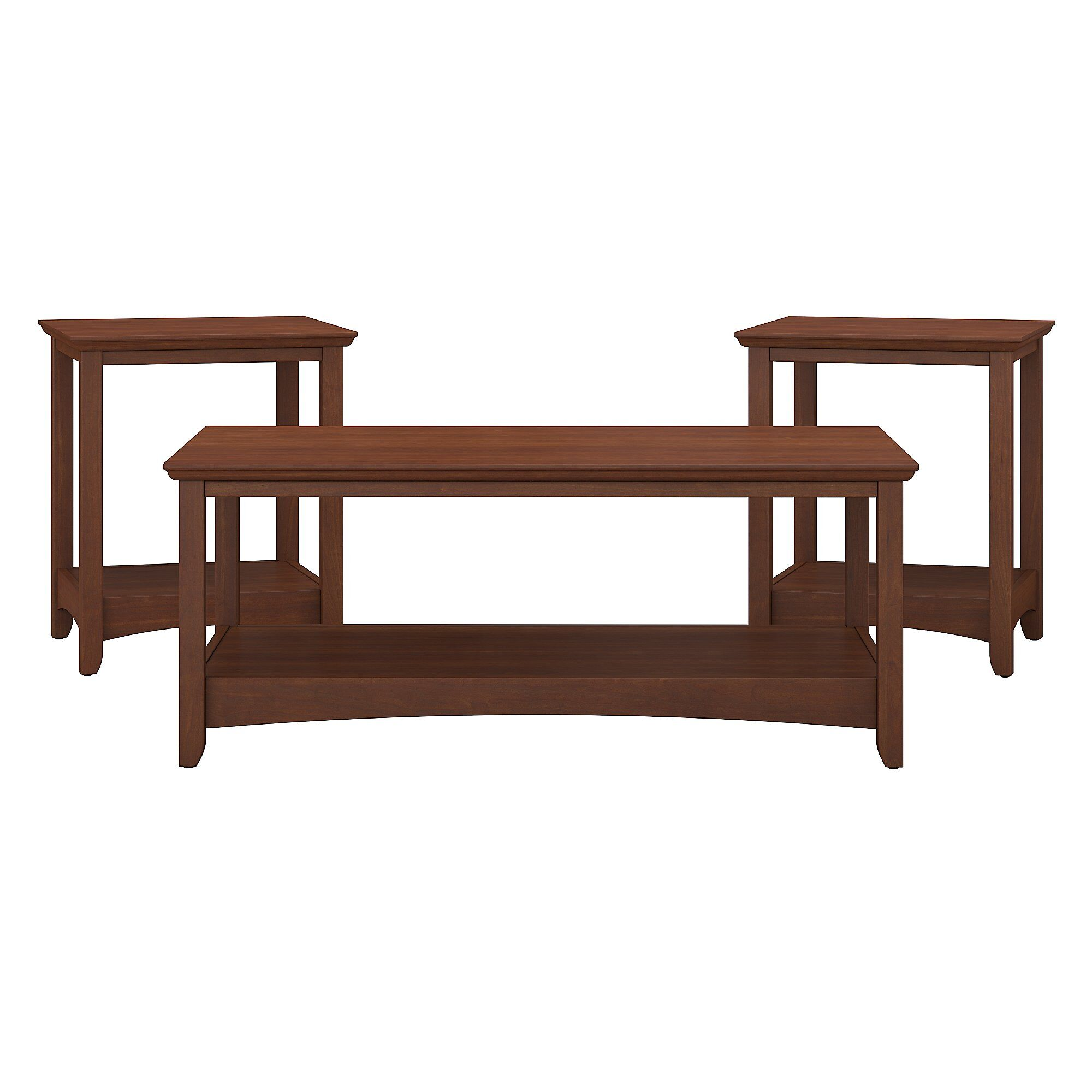 Fralick 3 Piece Coffee Table Set Color: Serene Cherry