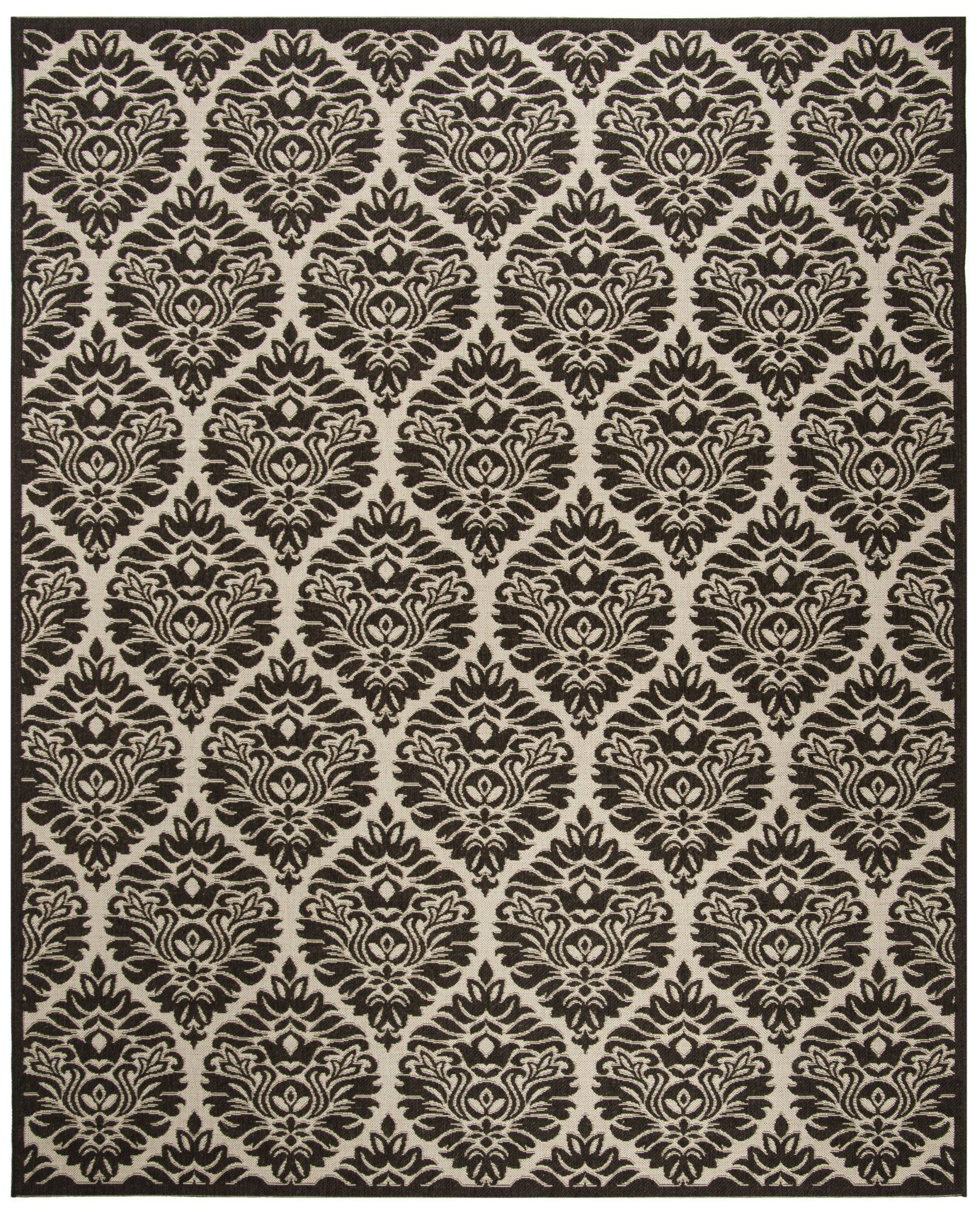 Burnell Boho Brown Area Rug Rug Size: Rectangle 9' x 12'