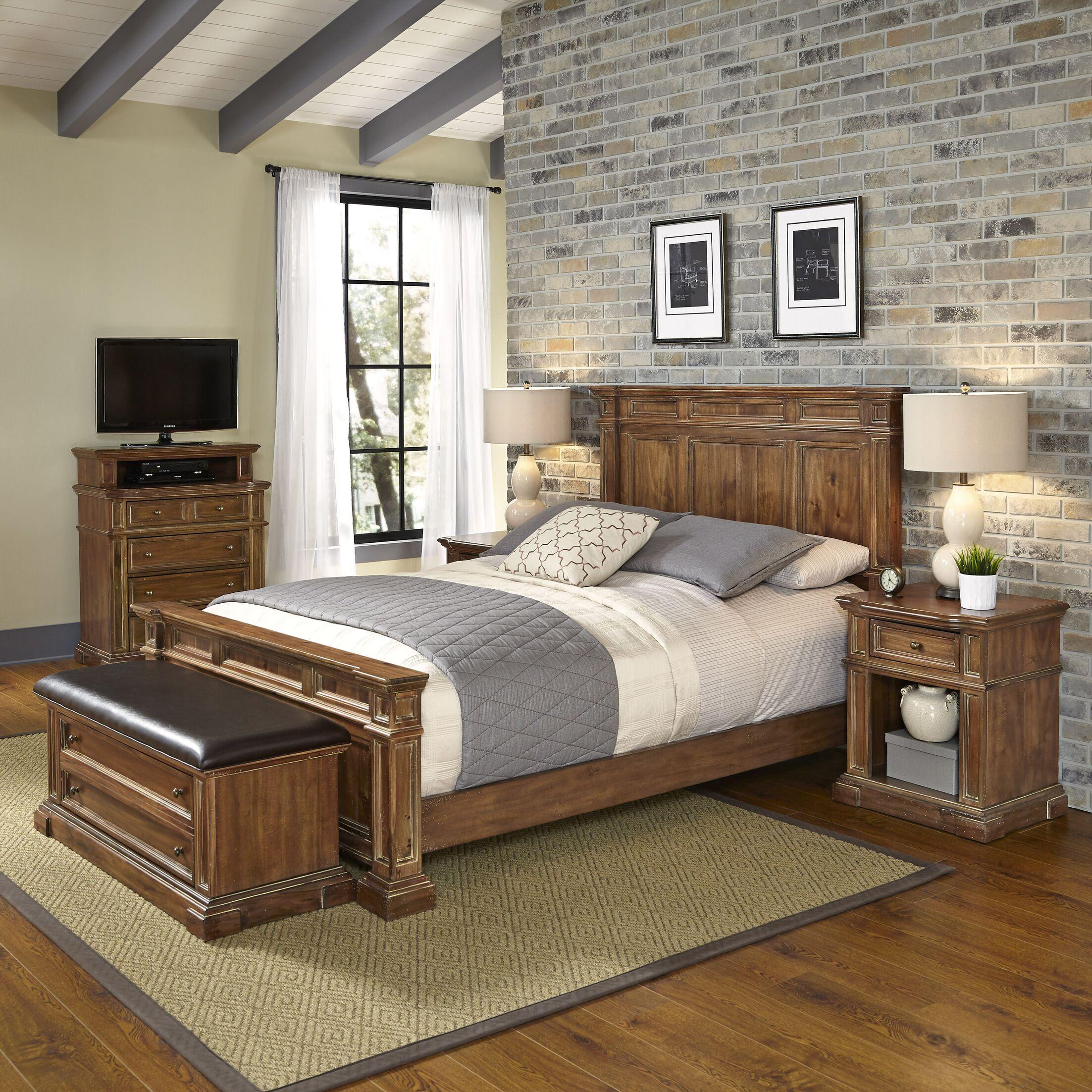 Landisville Platform 5 Piece Bedroom Set Bed Size: Queen