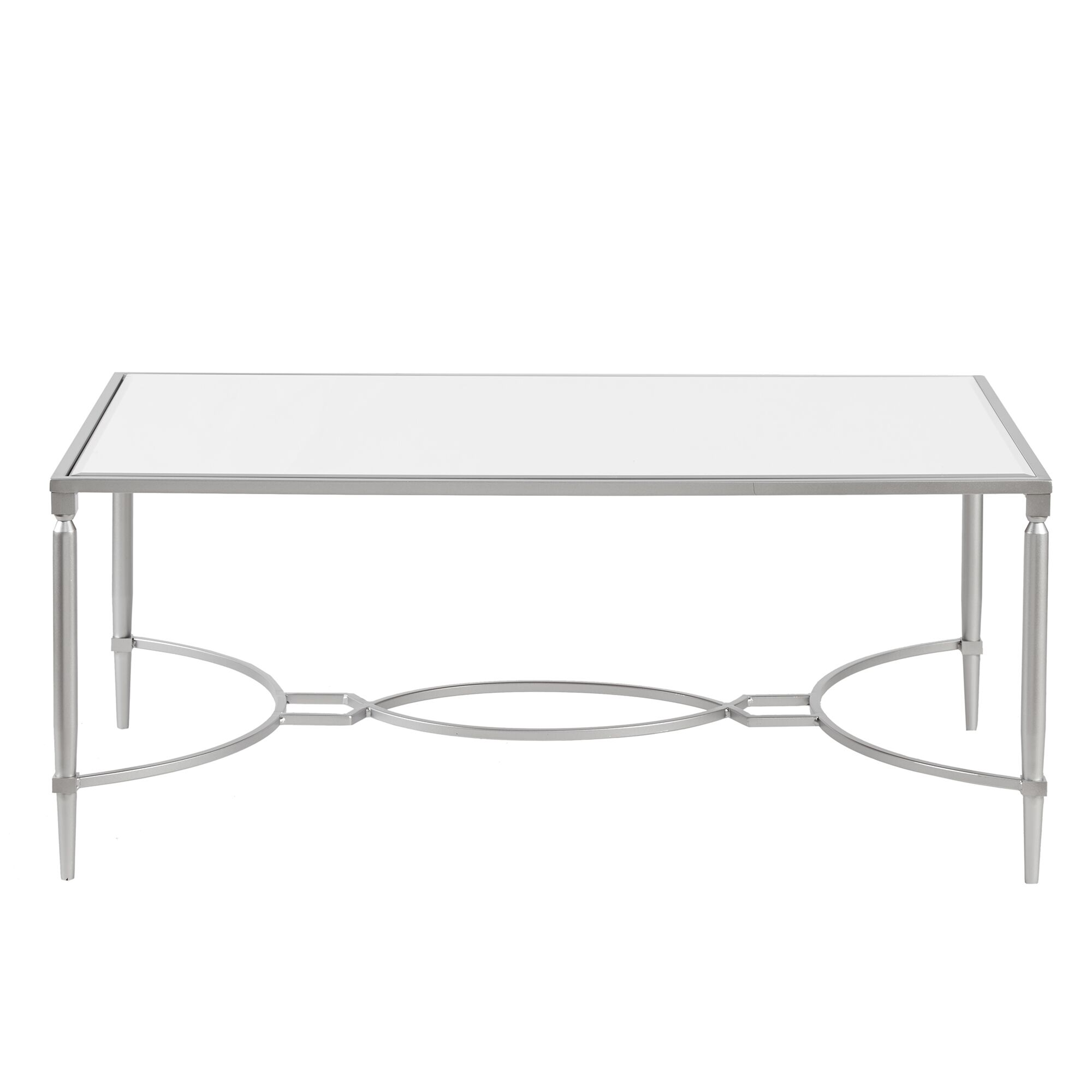 Turner Coffee Table Color: Silver