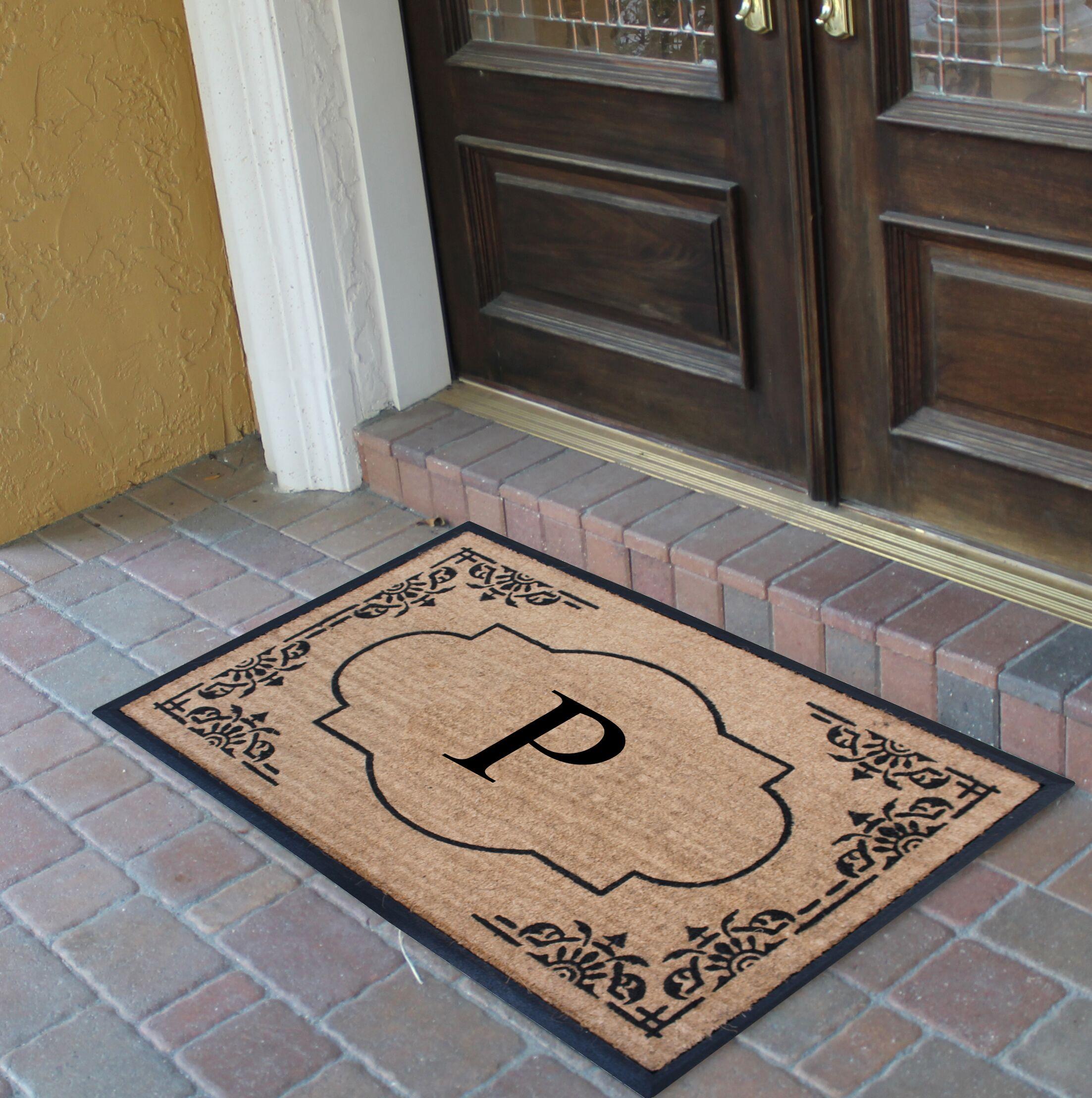 Albertina Doormat Letter: P
