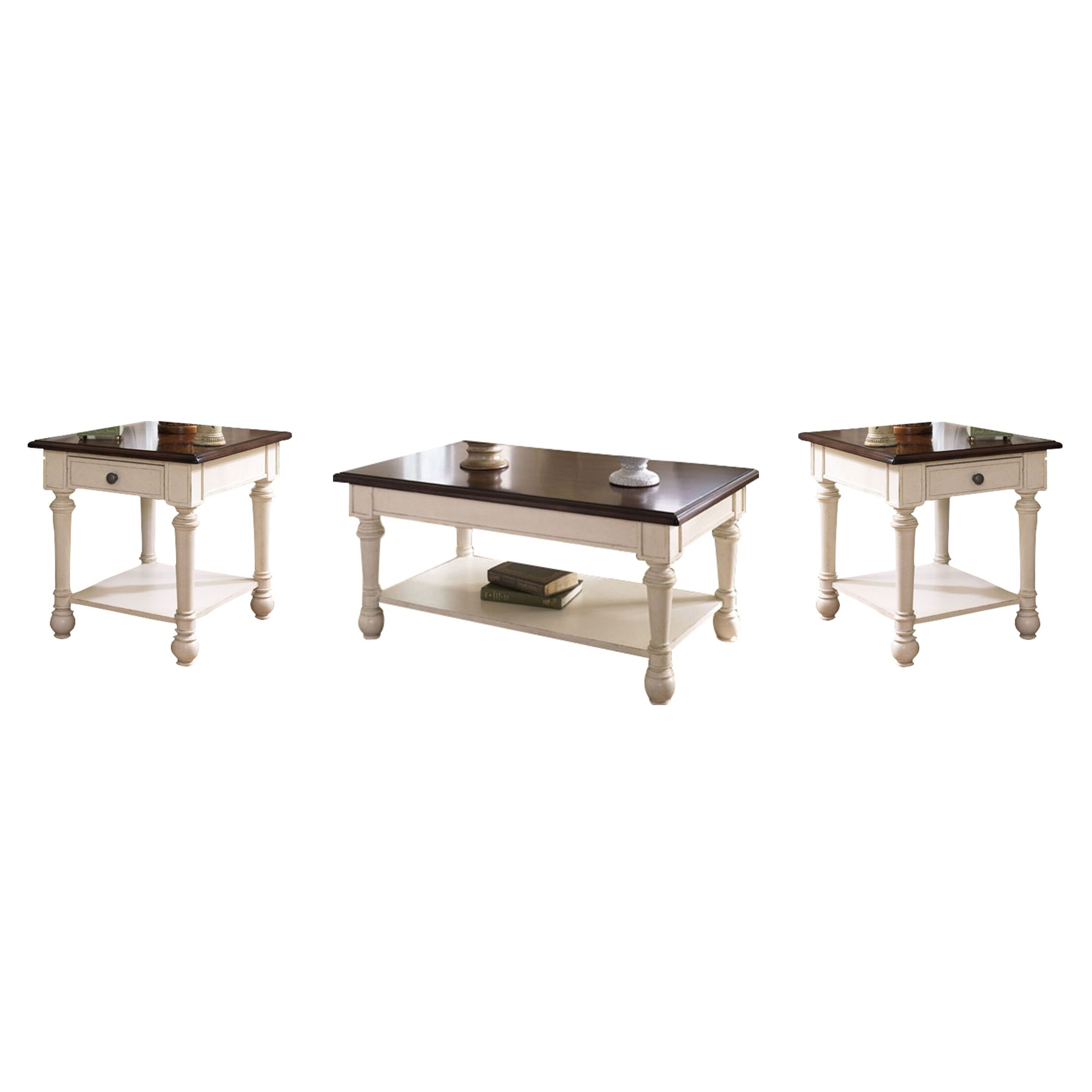 Demaree 3 Piece Coffee Table Set