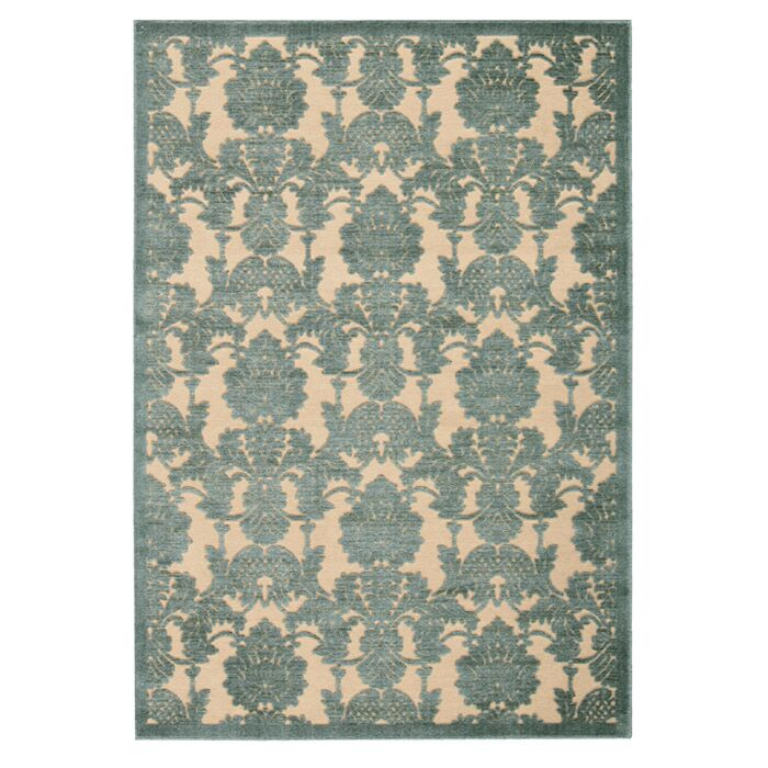 Castle Heights Teal Area Rug Rug Size: Rectangle 3'6