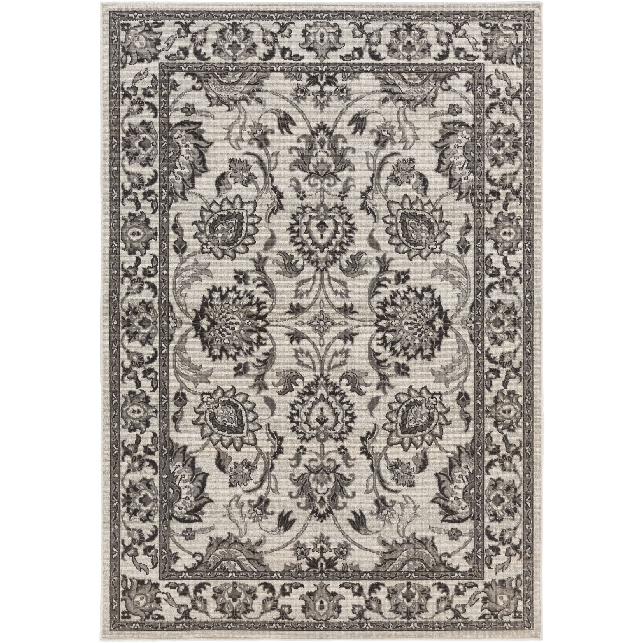 Canfield Gray Area Rug Rug Size: Rectangle 7'11