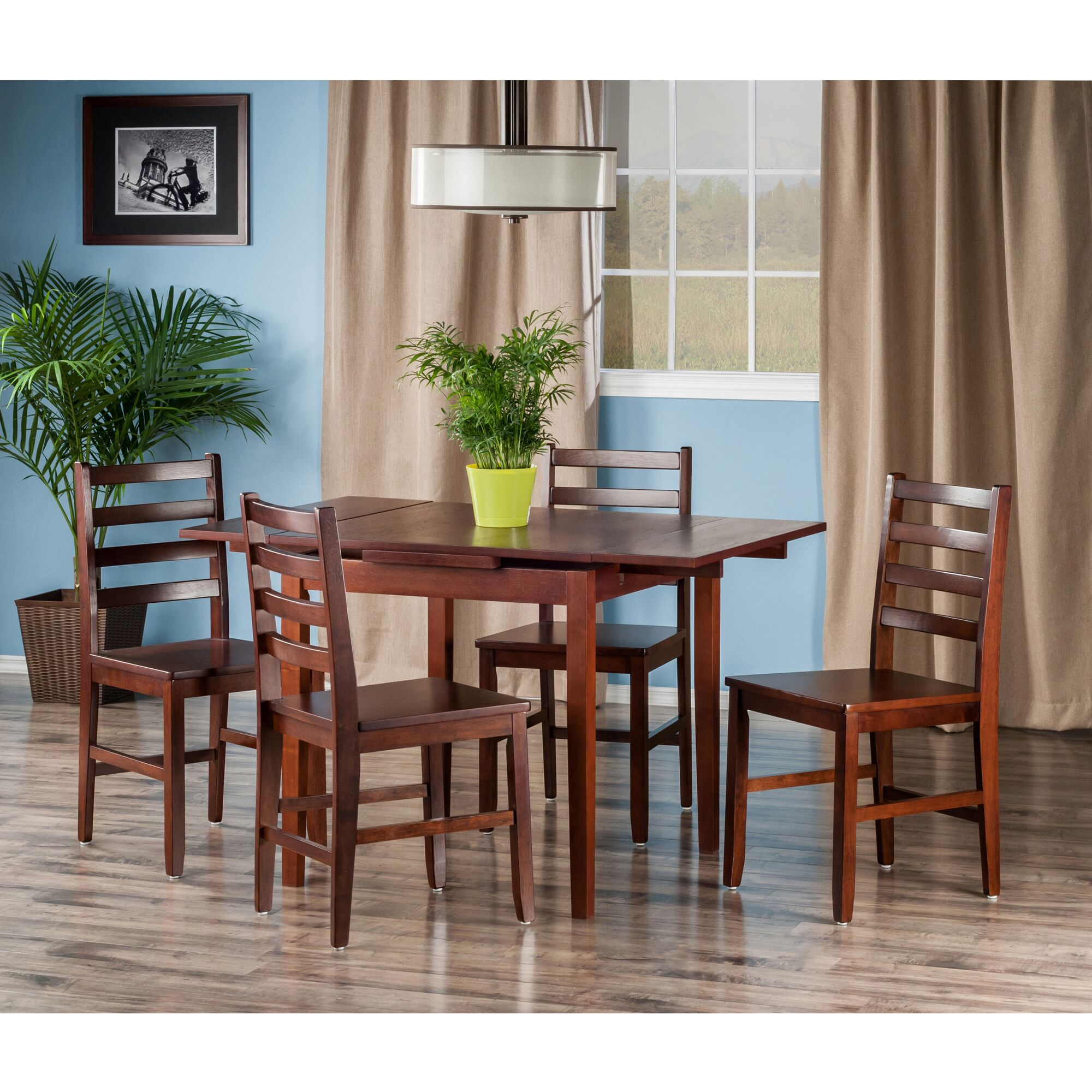 Dining Table Sets Shaws 5 Piece Extendable Dining Set