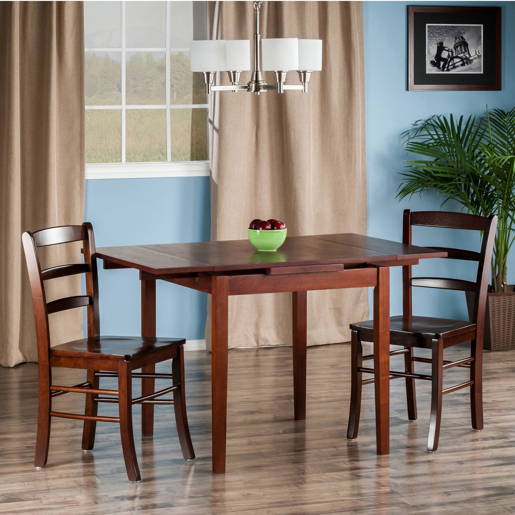 Dining Table Sets Shaws 3 Piece Extendable Dining Set