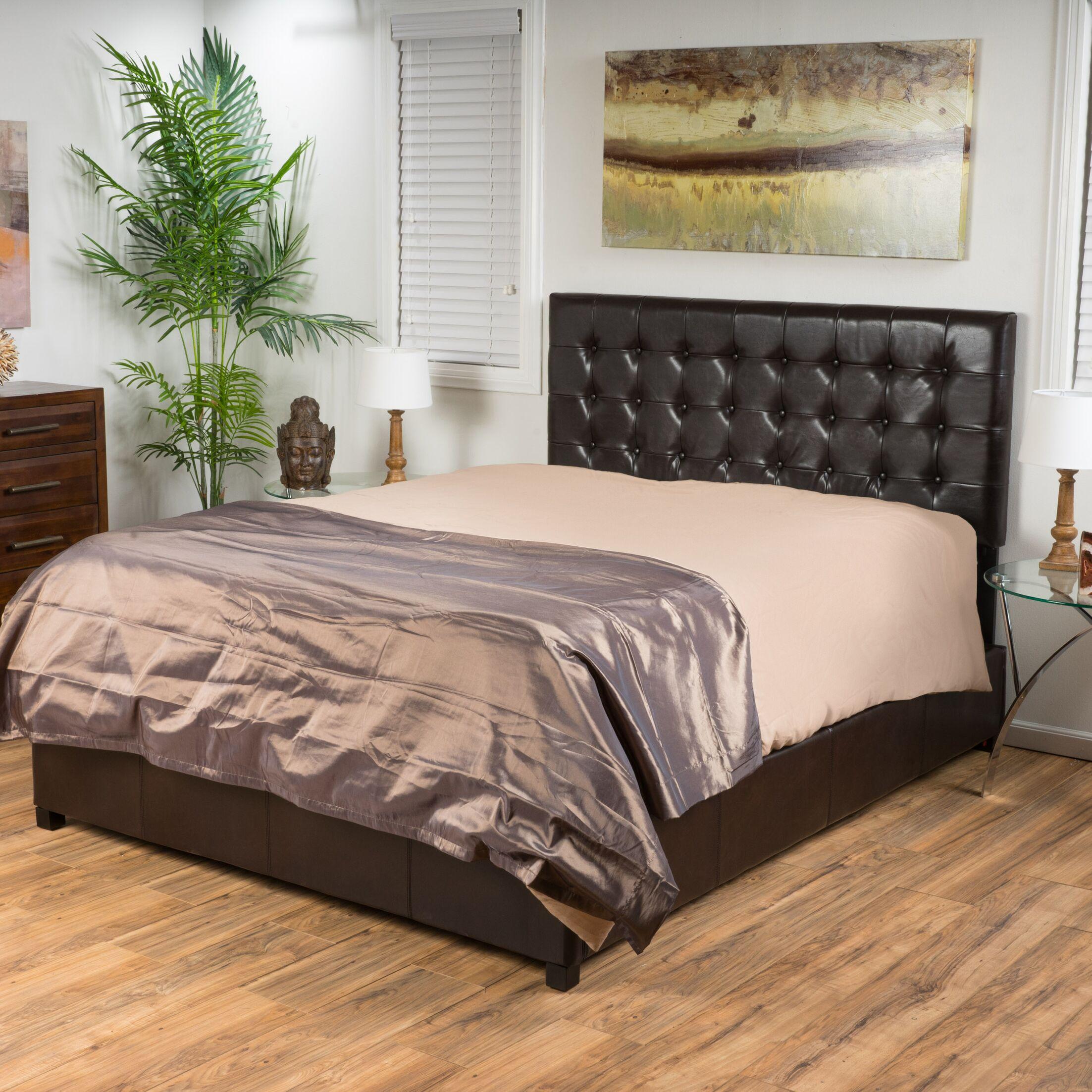 Ridgewood Upholstered Panel Bed Size: California King
