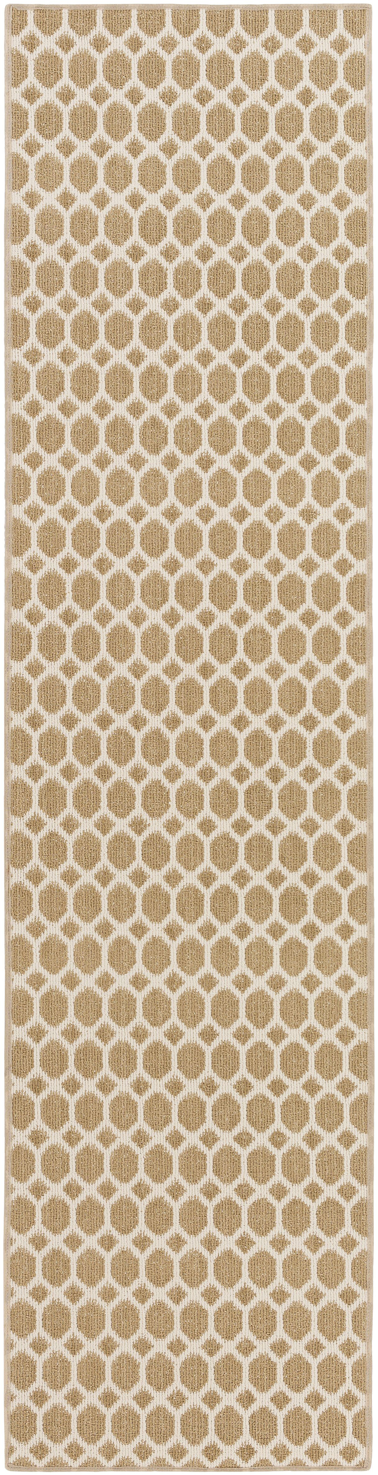 Casper Neutral Indoor/Outdoor Area Rug Rug Size: Runner 2' x 12'