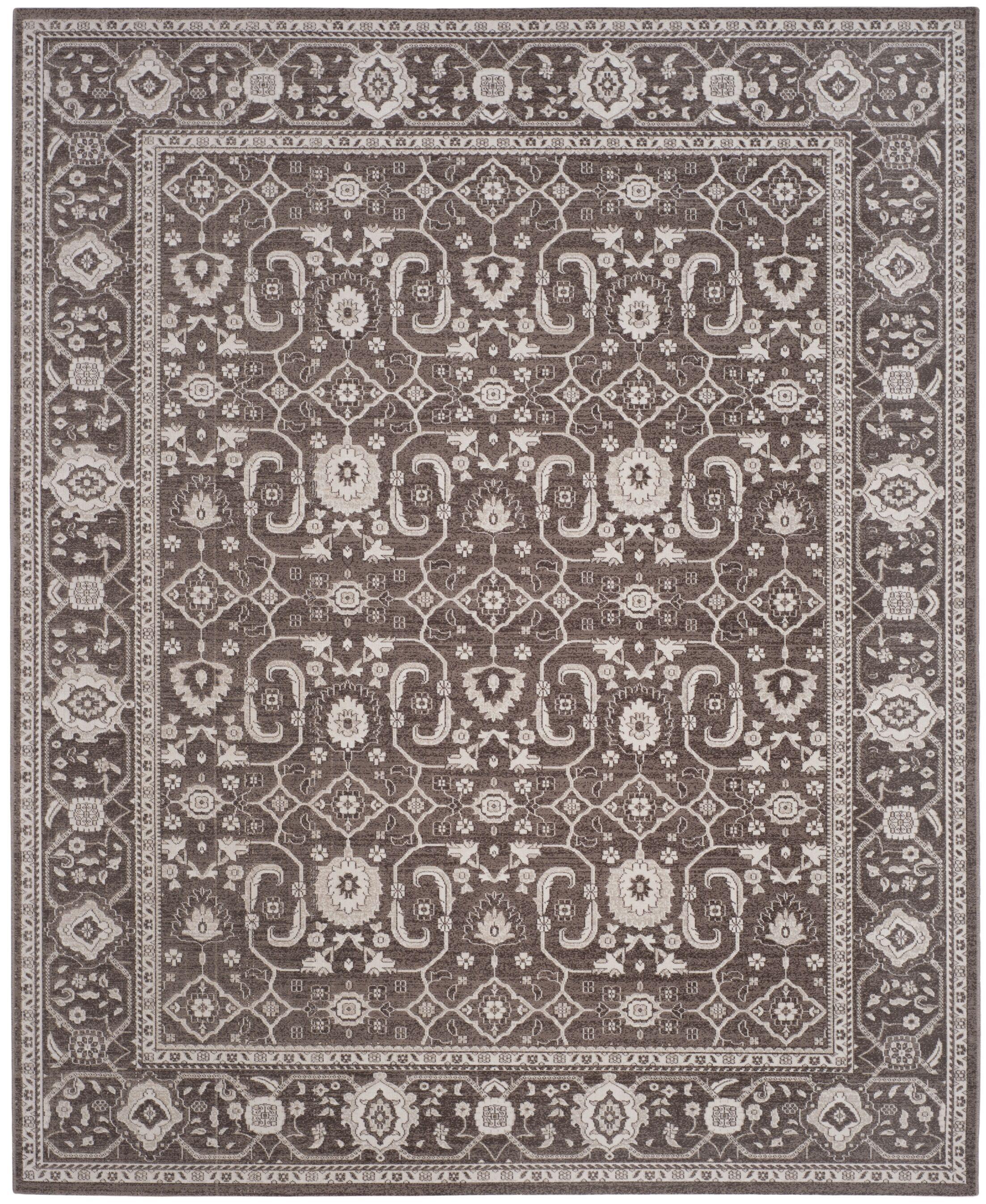 Fleetwood Brown Area Rug Rug Size: Rectangle 8' x 10'
