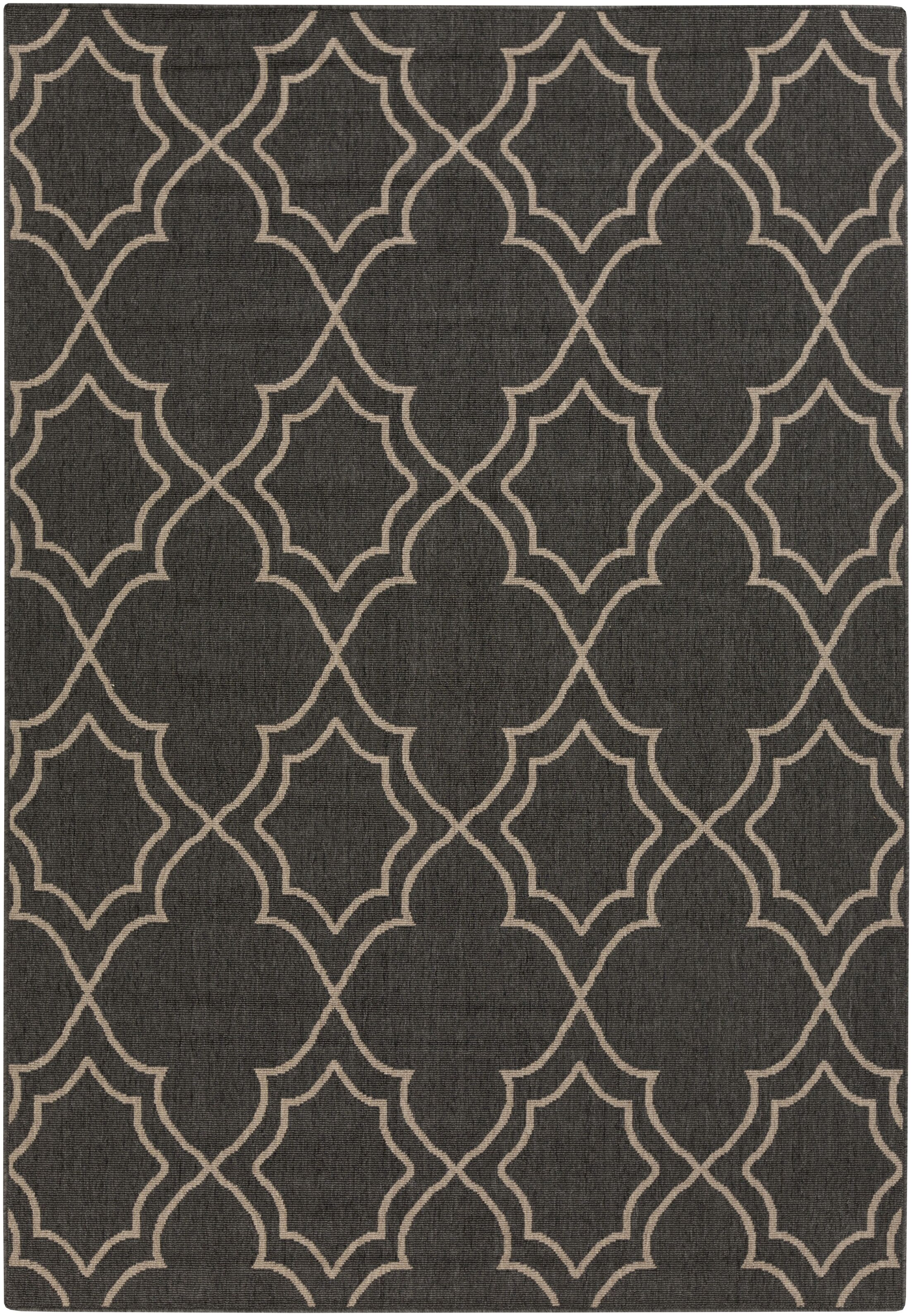 Amato Taupe Indoor/Outdoor Area Rug Rug Size: Rectangle 8'9