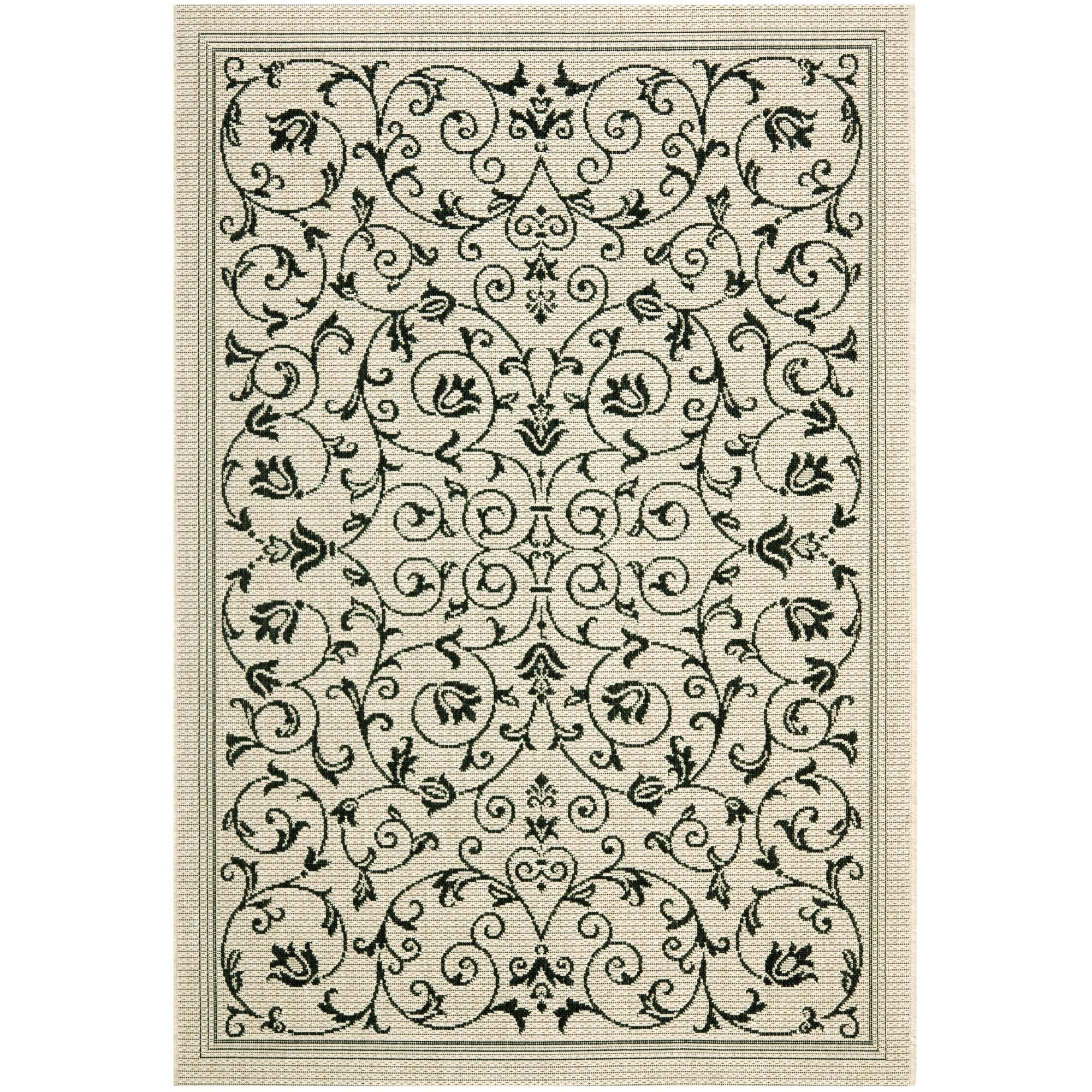 Bexton Gray Outdoor/Indoor Area Rug Rug Size: Rectangle 6'7
