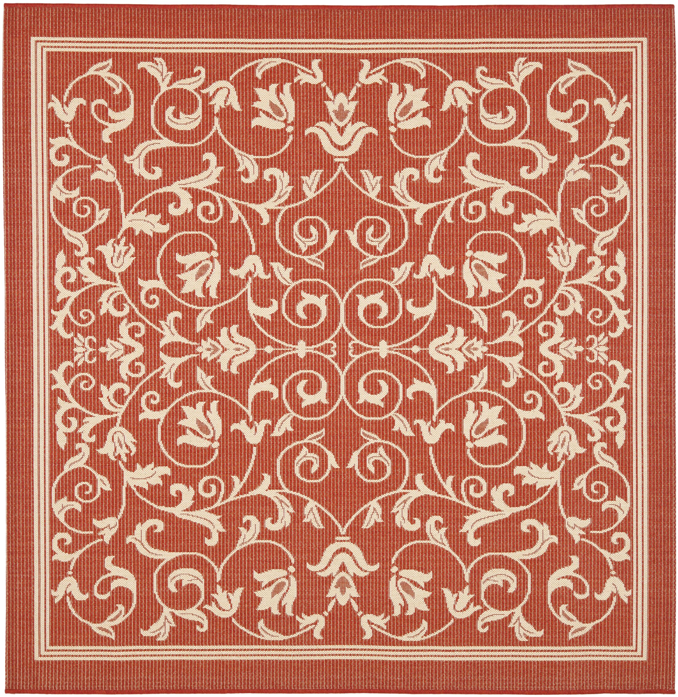 Bexton Natural Indoor/Outdoor Rug Rug Size: Square 6'7
