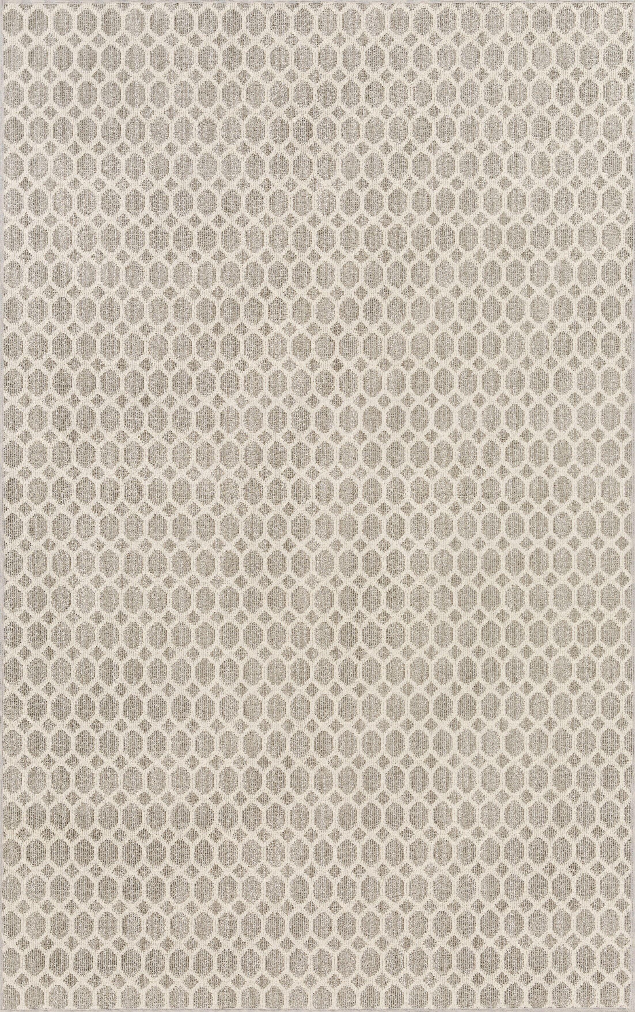 Casper Gray Indoor/Outdoor Area Rug Rug Size: Rectangle 5' x 8'