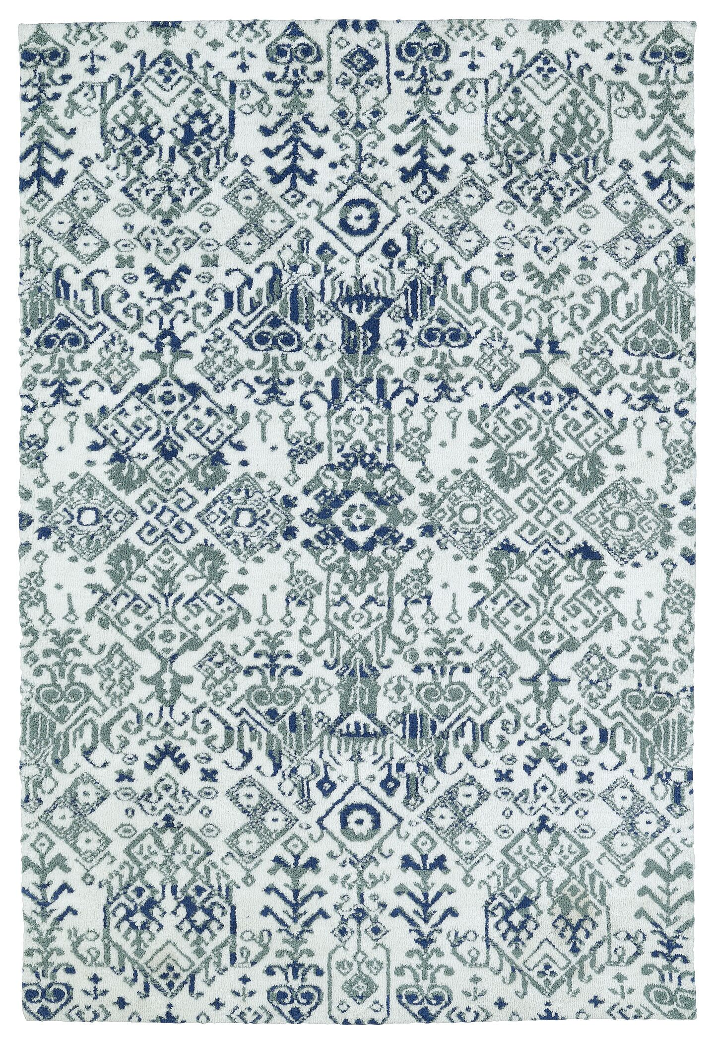 Rodgers Ivory Area Rug Rug Size: Rectangle 5' x 7'