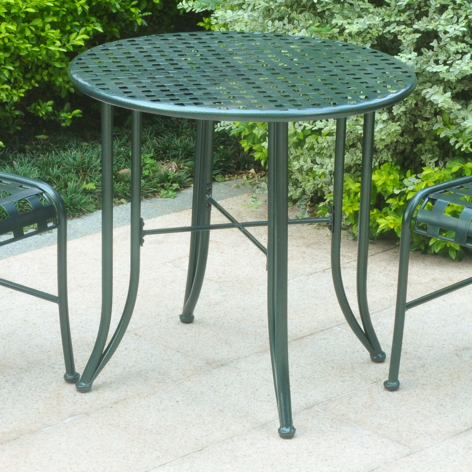 Dalmatia Bistro Table Finish: Verdigris