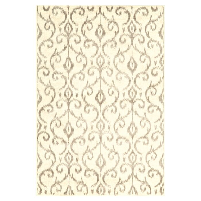 Eagleview Cream Area Rug Rug Size: Runner 2'1 x 7'1