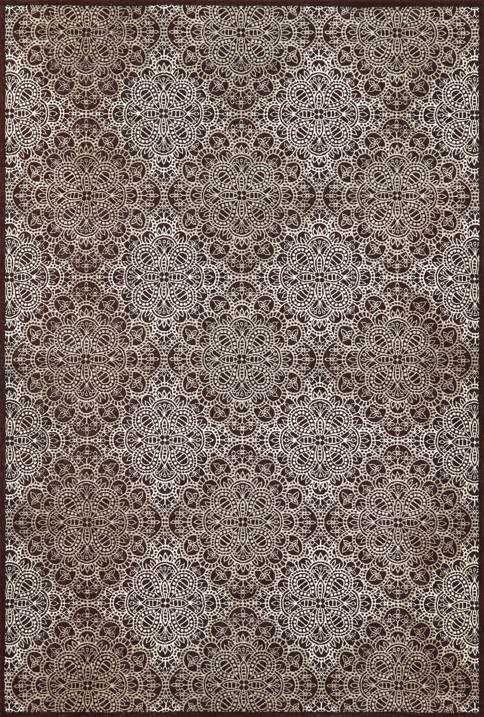 Eagleview Chocolate Area Rug Rug Size: Rectangle 10' x 13'2