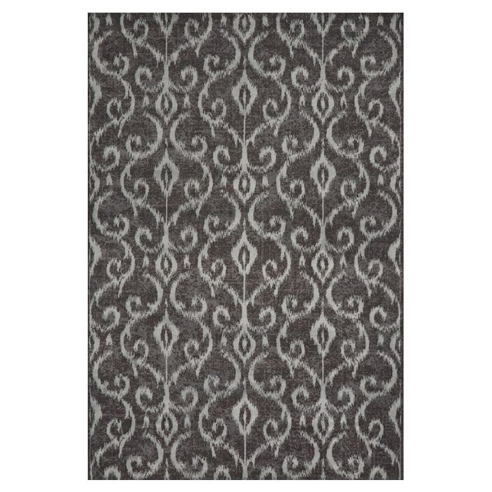 Eagleview Gray Area Rug Rug Size: Runner 2'1 x 7'1