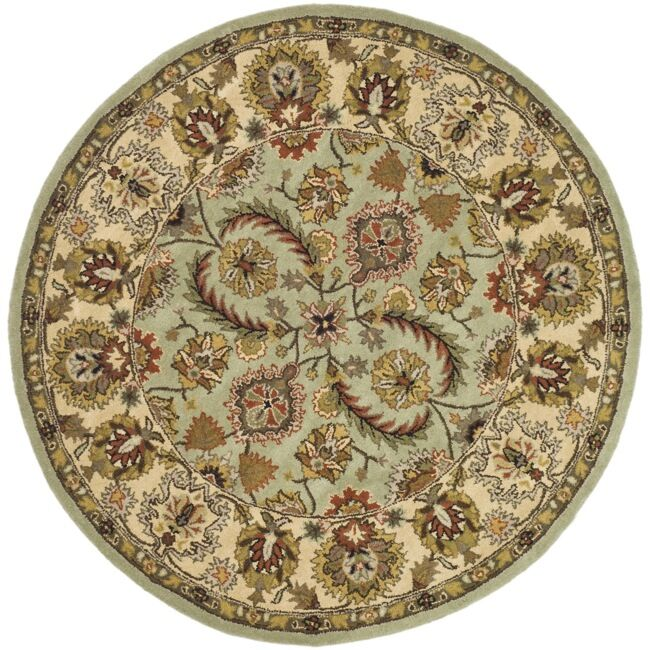 Fenner Light Green/Ivory Area Rug Rug Size: Rectangle 5' x 8'