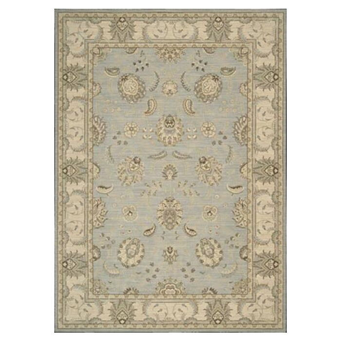 Humphries Hand-Woven Aqua/Beige Area Rug Rug Size: Rectangle 2' x 2'9