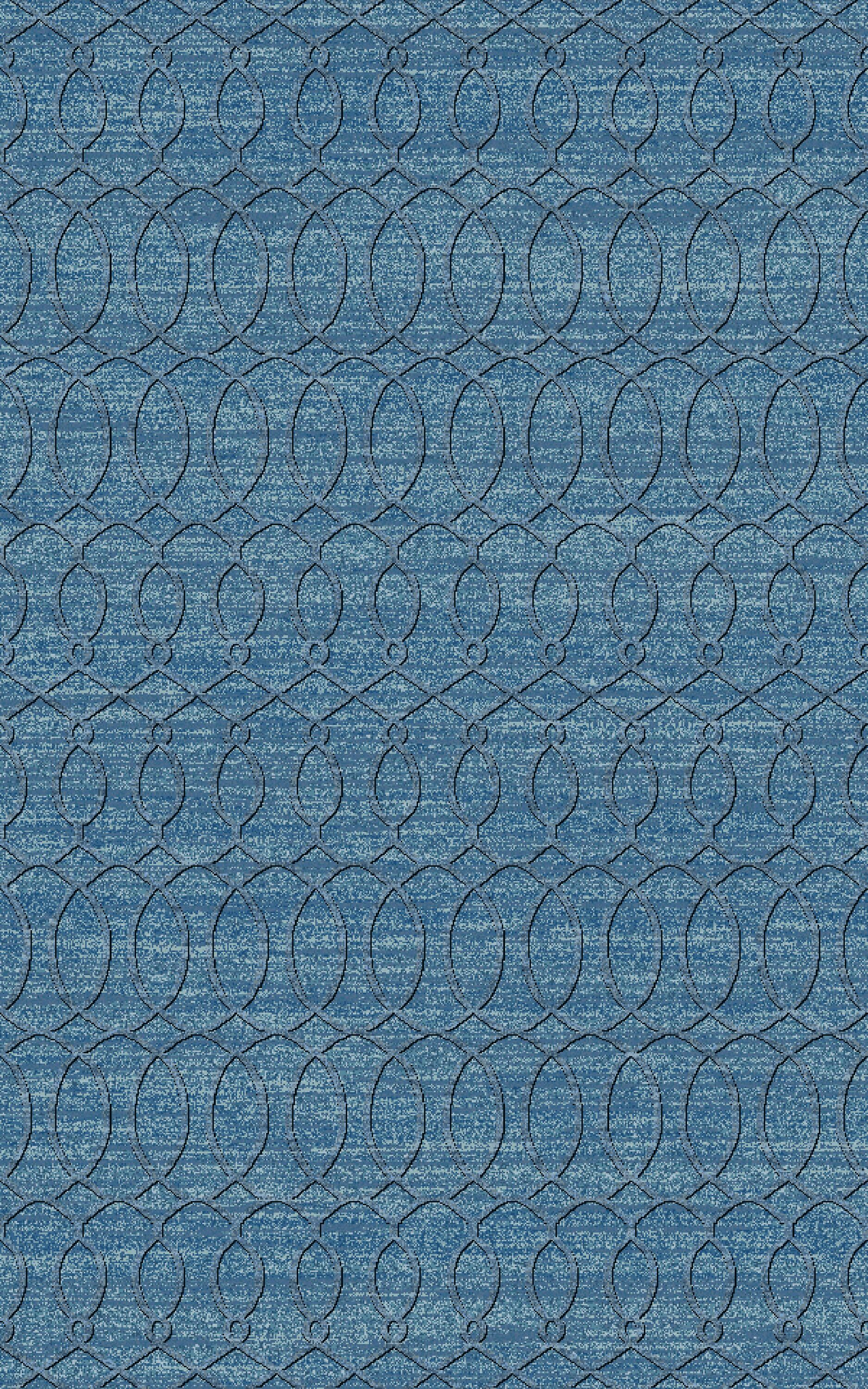Grange Aqua Area Rug Rug Size: Rectangle 8' x 11'