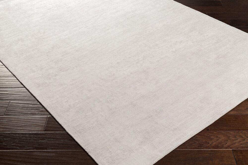 Goldston Hand-Woven Medium Gray Area Rug Rug Size: Rectangle 4' x 6'