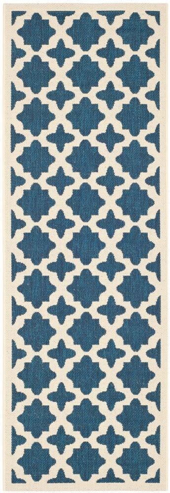 Osgood Blue Indoor/Outdoor Area Rug Rug Size: Runner 2'3