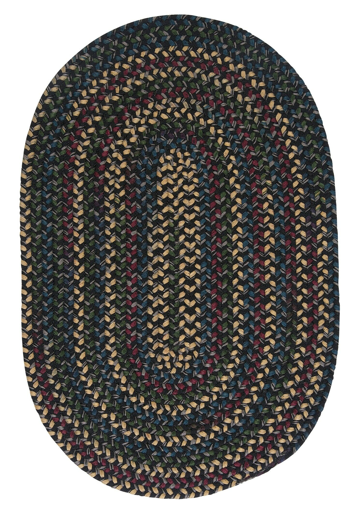 Mclaughlin Carbon Rug Rug Size: Oval 5' x 8'