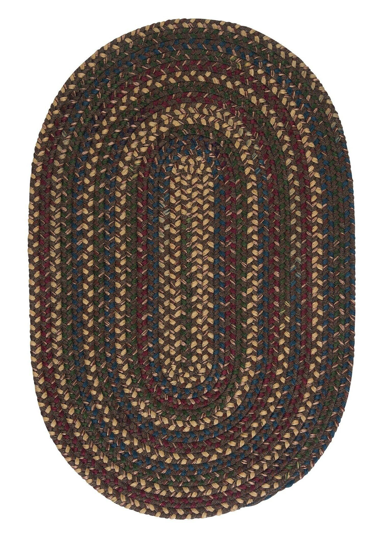 Mclaughlin Area Rug Rug Size: Oval 10' x 13'