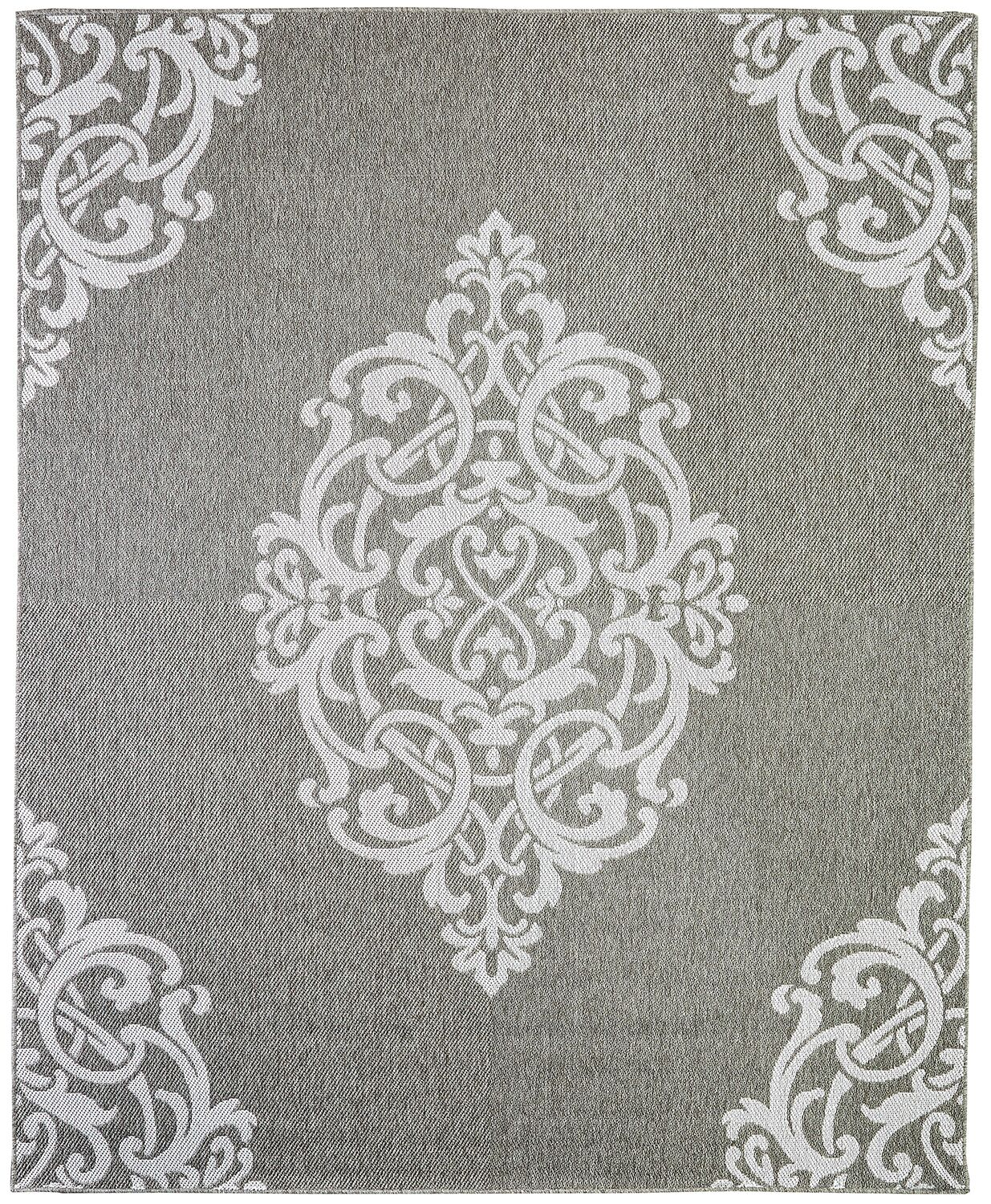 Barker Silver Area Rug Rug Size: Rectangle 9' x 12'