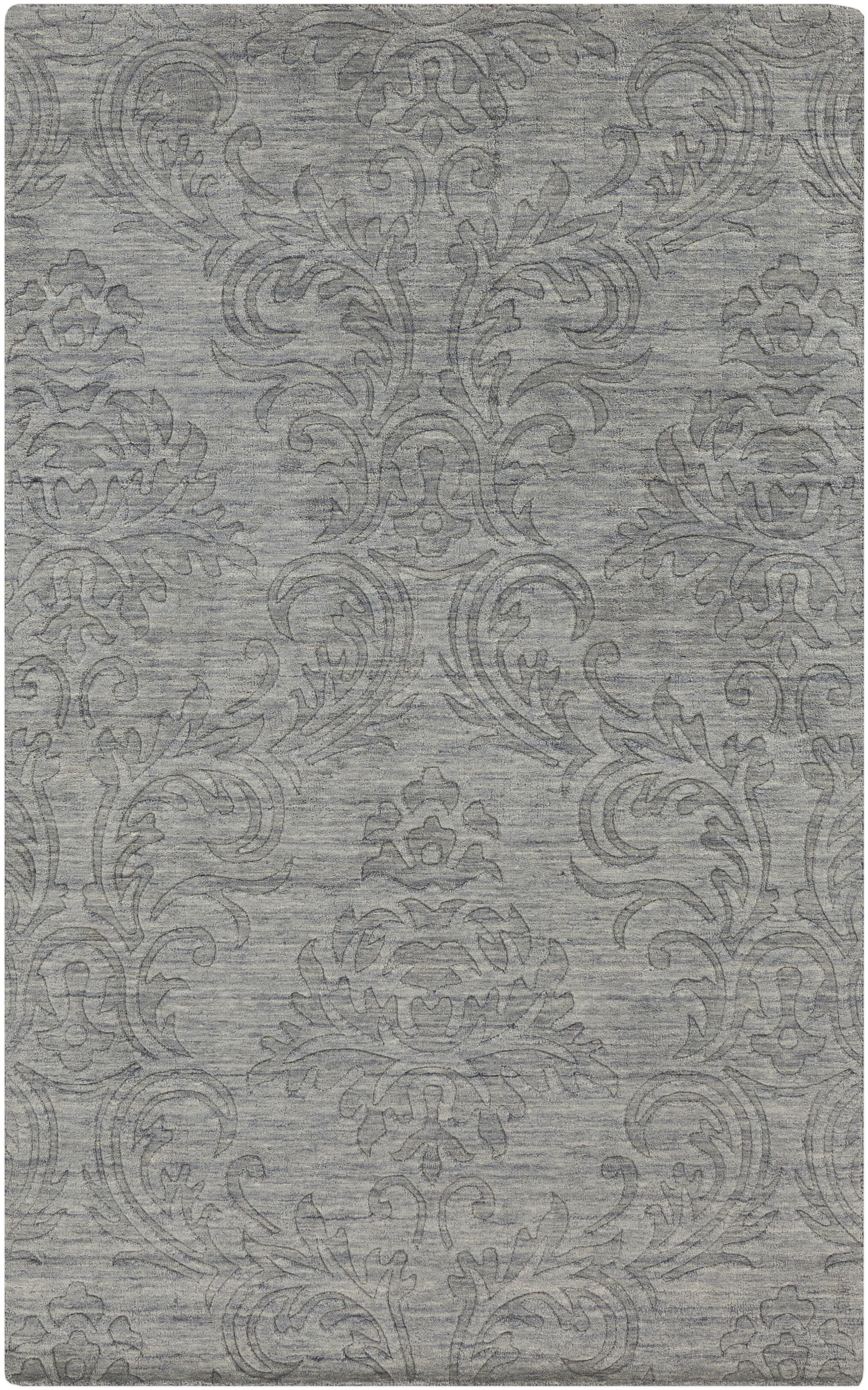 Gallaher Gray Area Rug Rug Size: Rectangle 5' x 8'