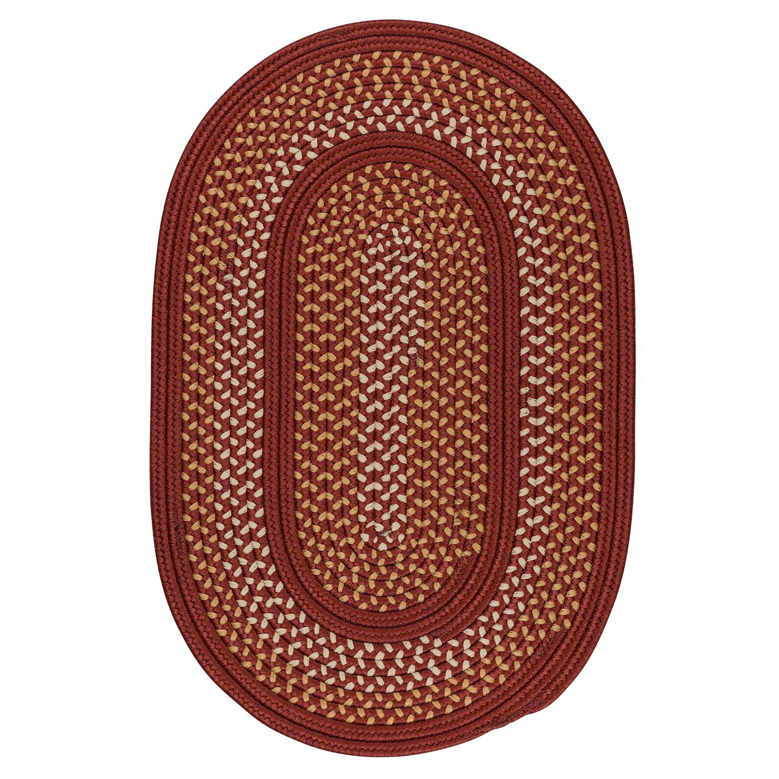 Knudtson Cedar Rose Indoor/Outdoor Area Rug Rug Size: Round 8'